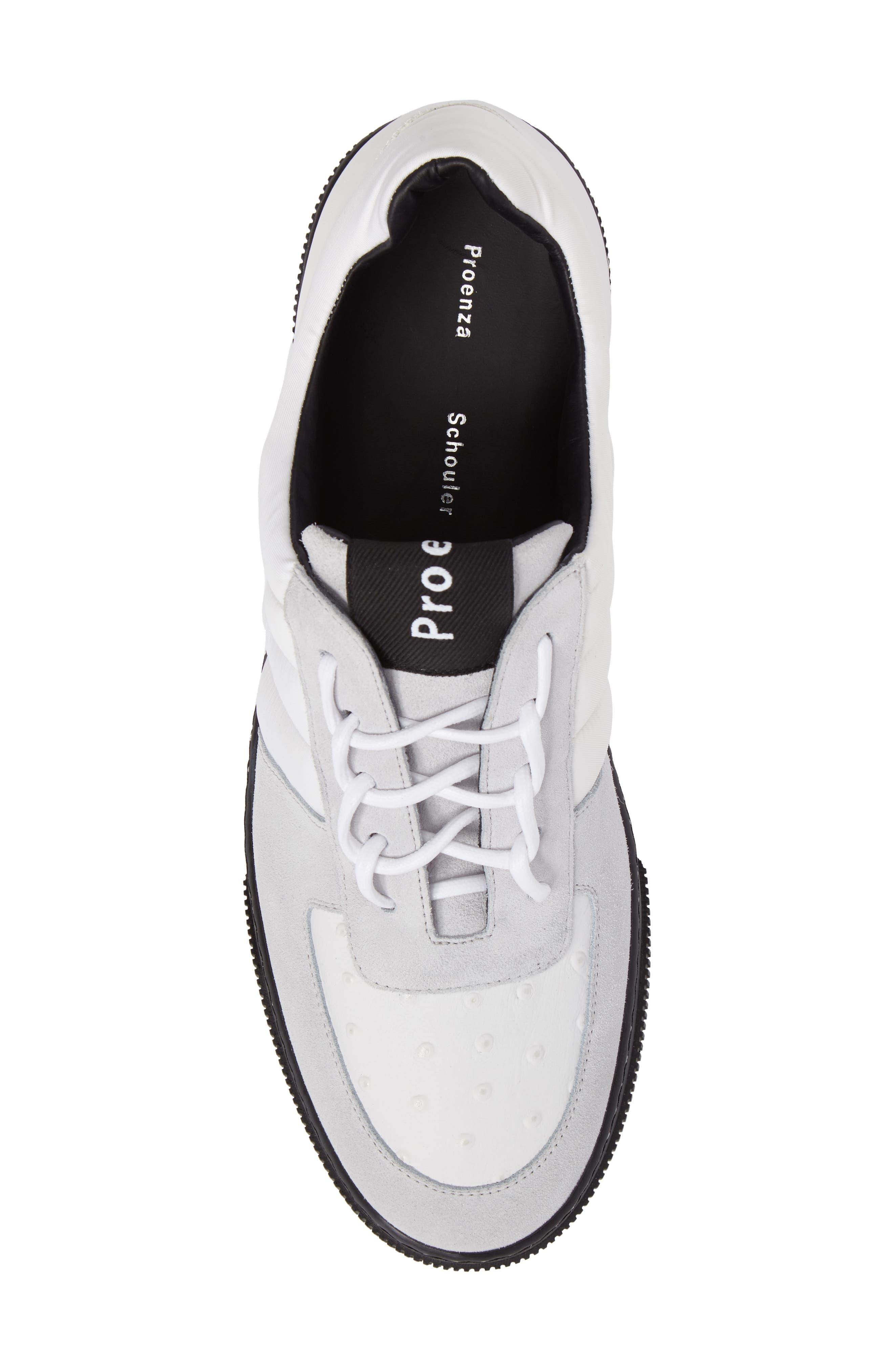 Sneaker,                             Alternate thumbnail 5, color,                             White