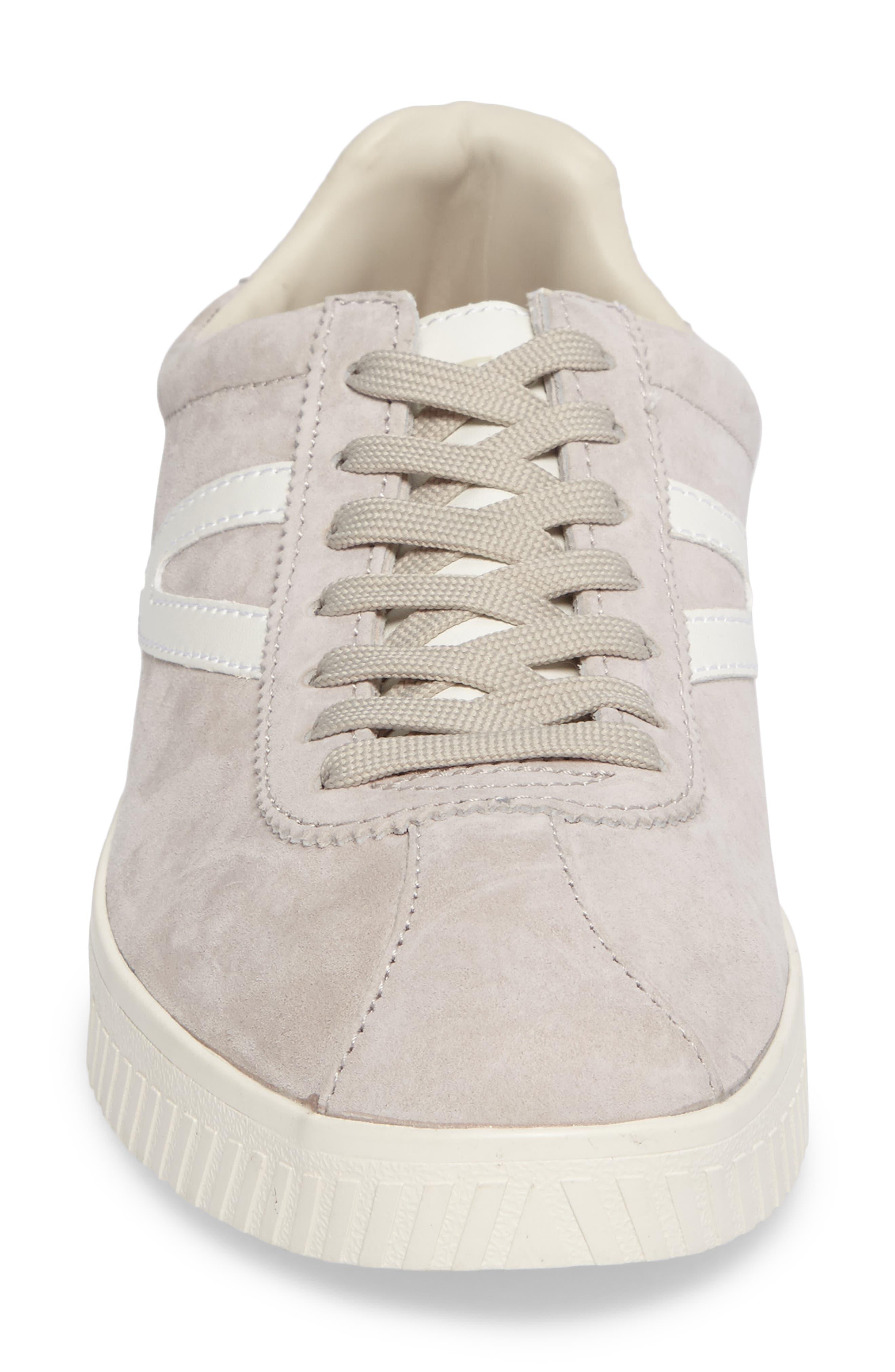 Camden 3 Sneaker,                             Alternate thumbnail 4, color,                             Birch/ White Nubuck