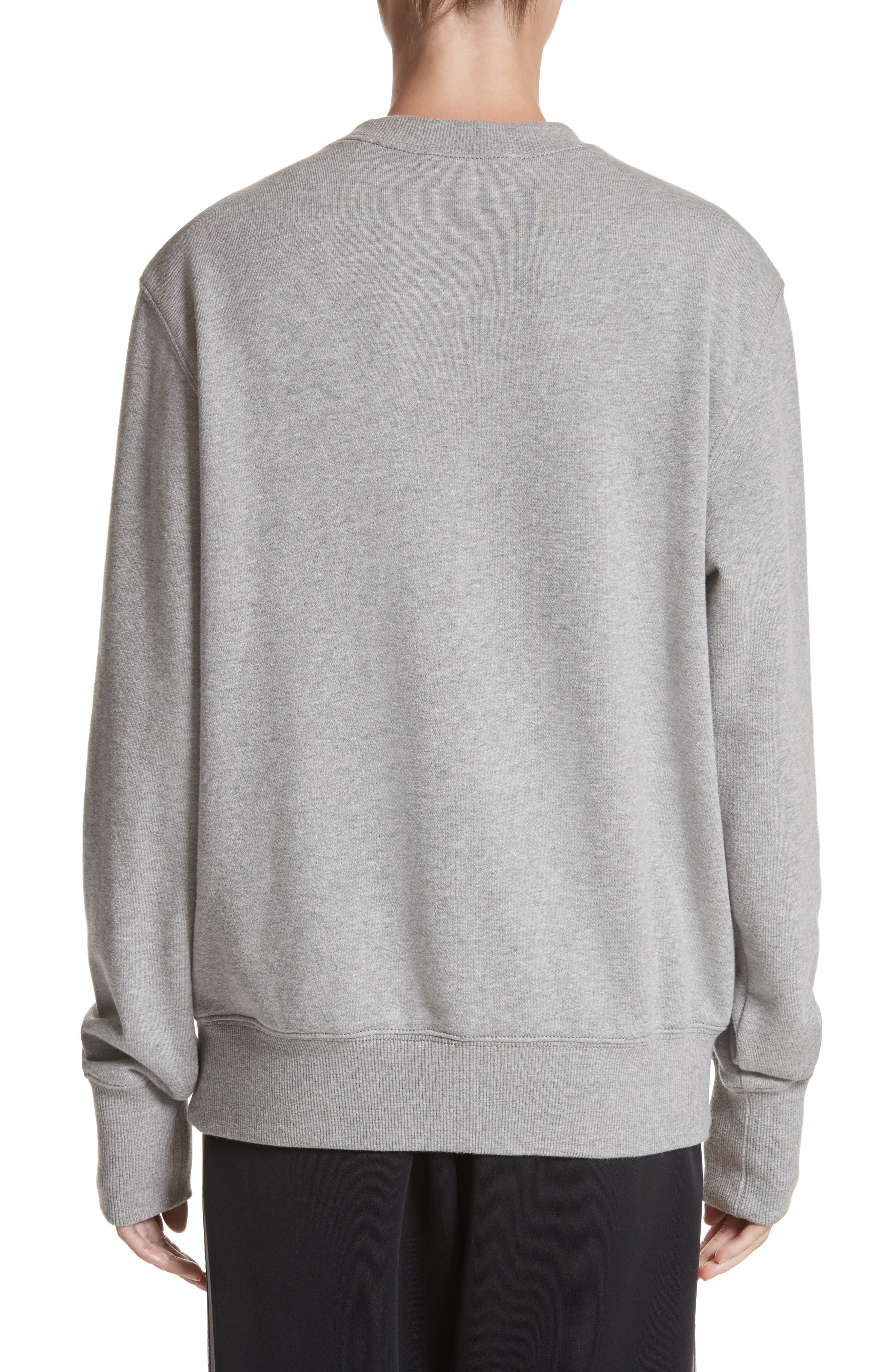 Logo Sweatshirt,                             Alternate thumbnail 2, color,                             Grey Melange