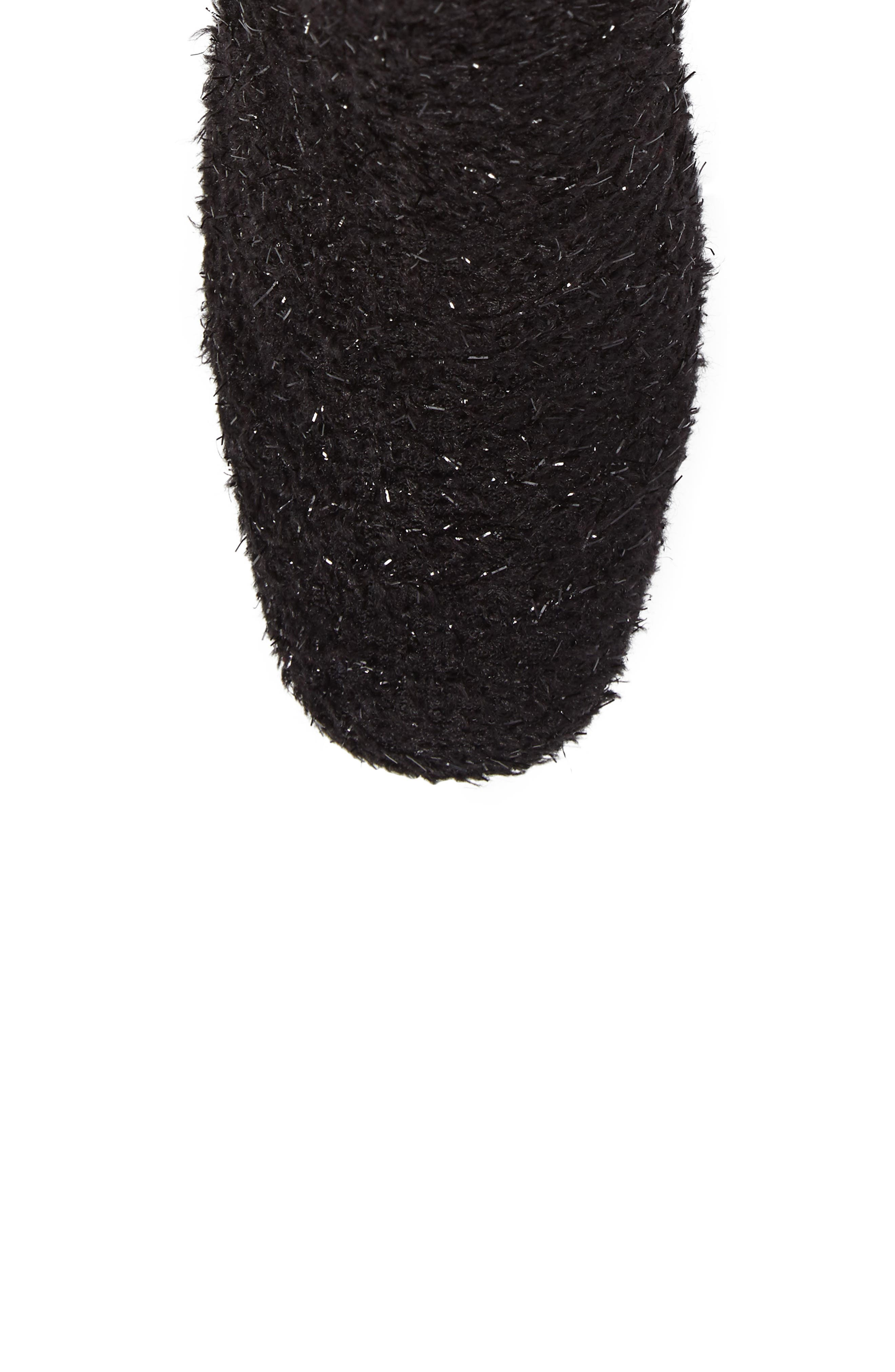 Pearlbacari Bootie,                             Alternate thumbnail 5, color,                             Black Boucle