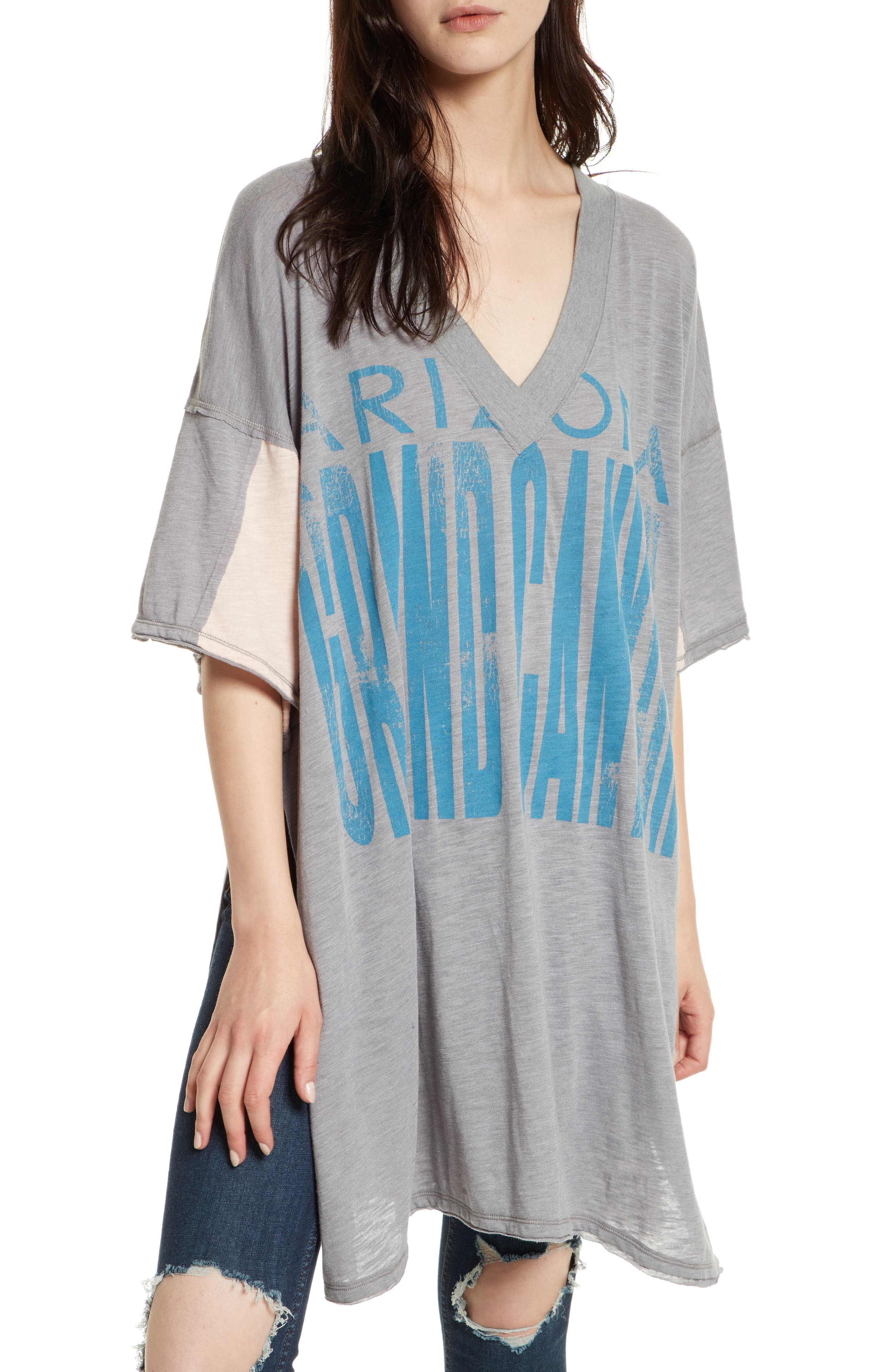 FREE PEOPLE City Slicker Oversize Tunic