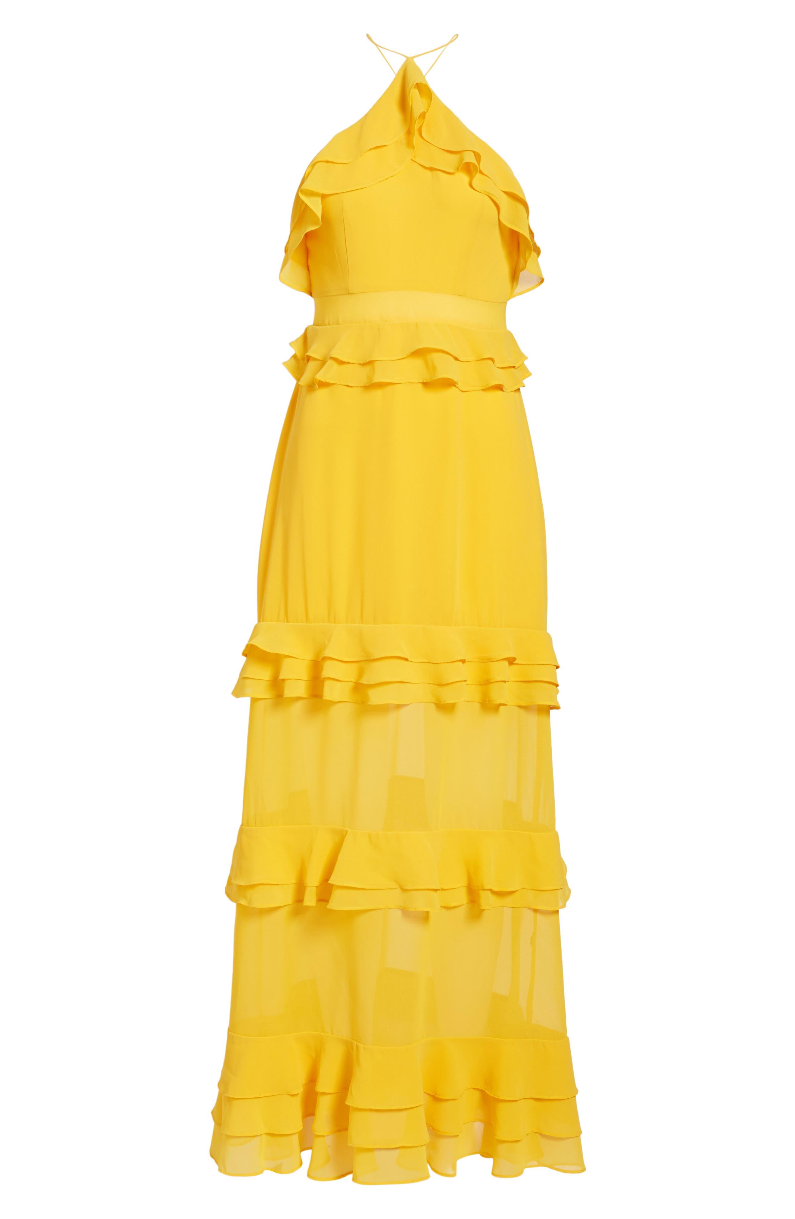 Alternate Image 6  - AFRM Violet Maxi Dress