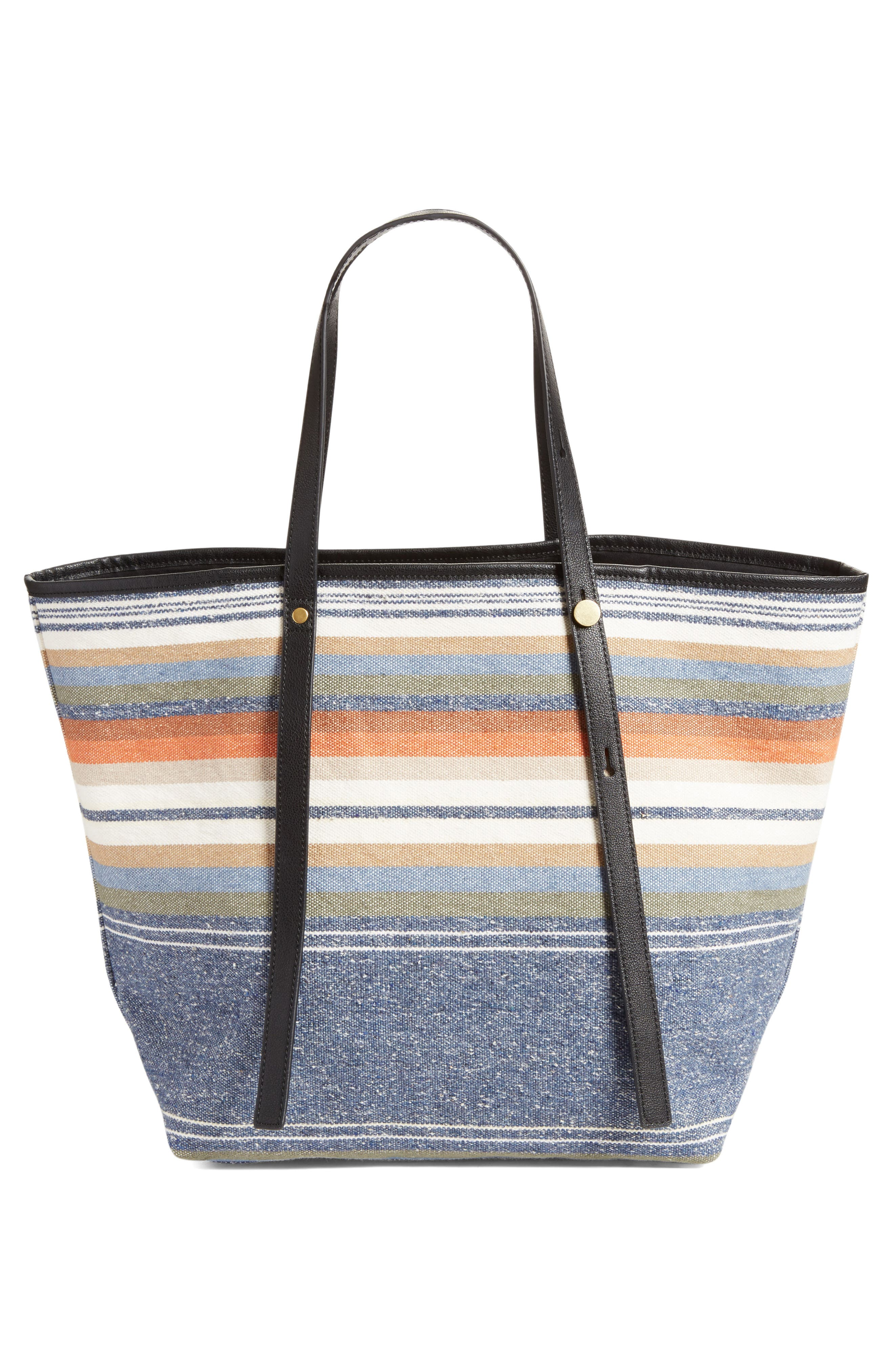 Alternate Image 3  - See by Chloé Stripe Canvas Tote