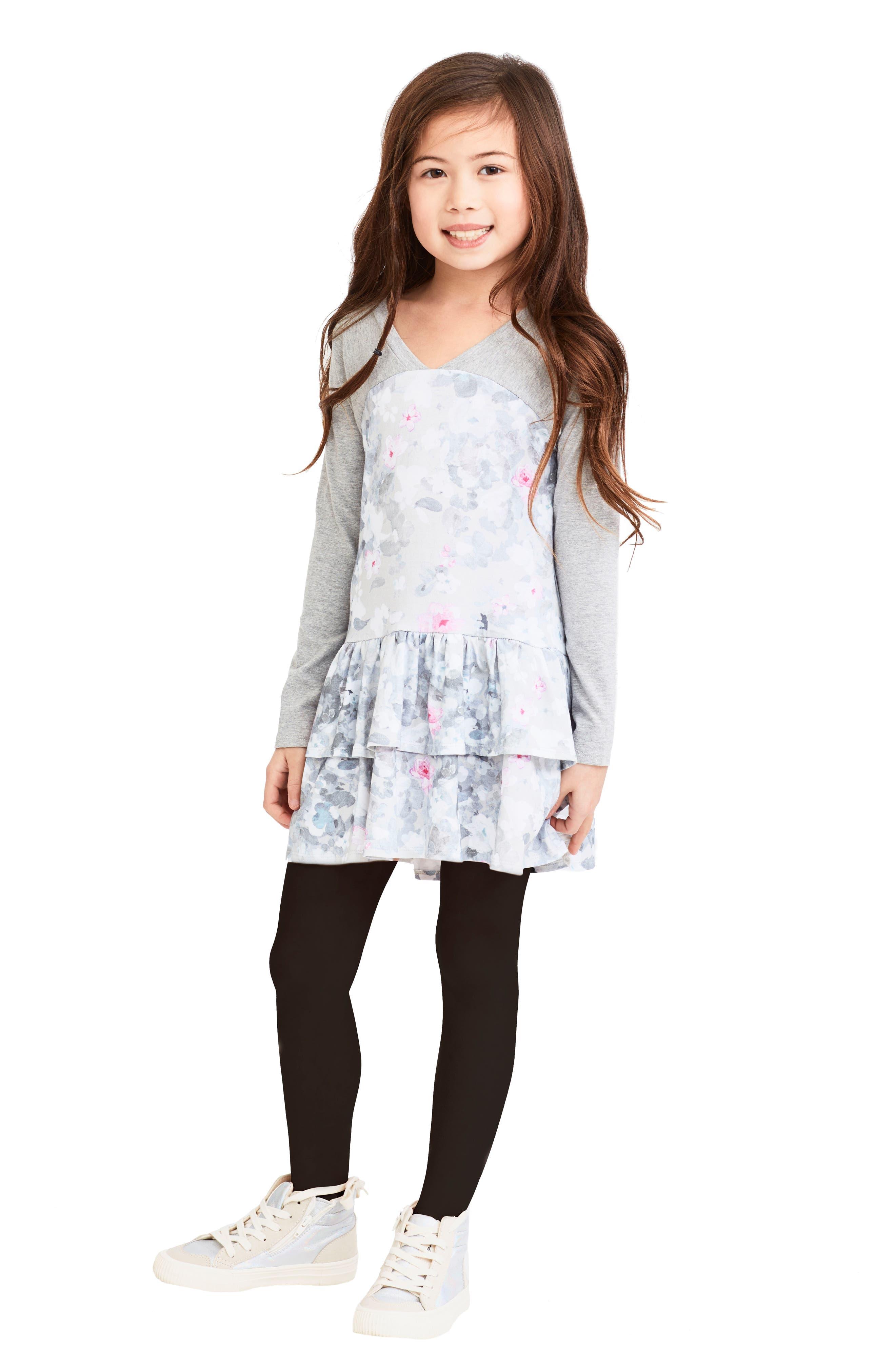 Alternate Image 2  - Art & Eden Julia Dress (Toddler Girls & Little Girls)