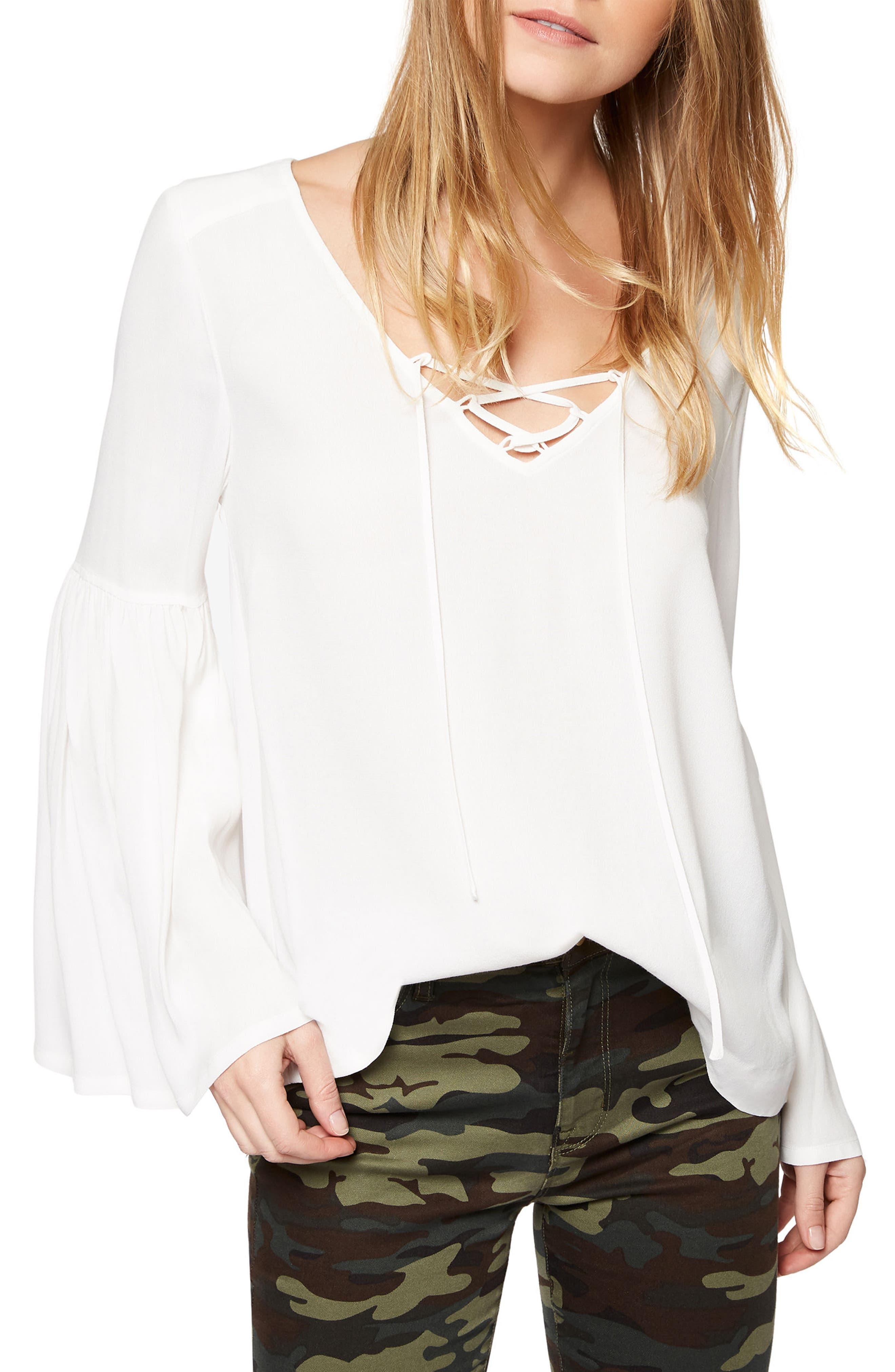 Sanctuary Lila Bell Sleeve Top