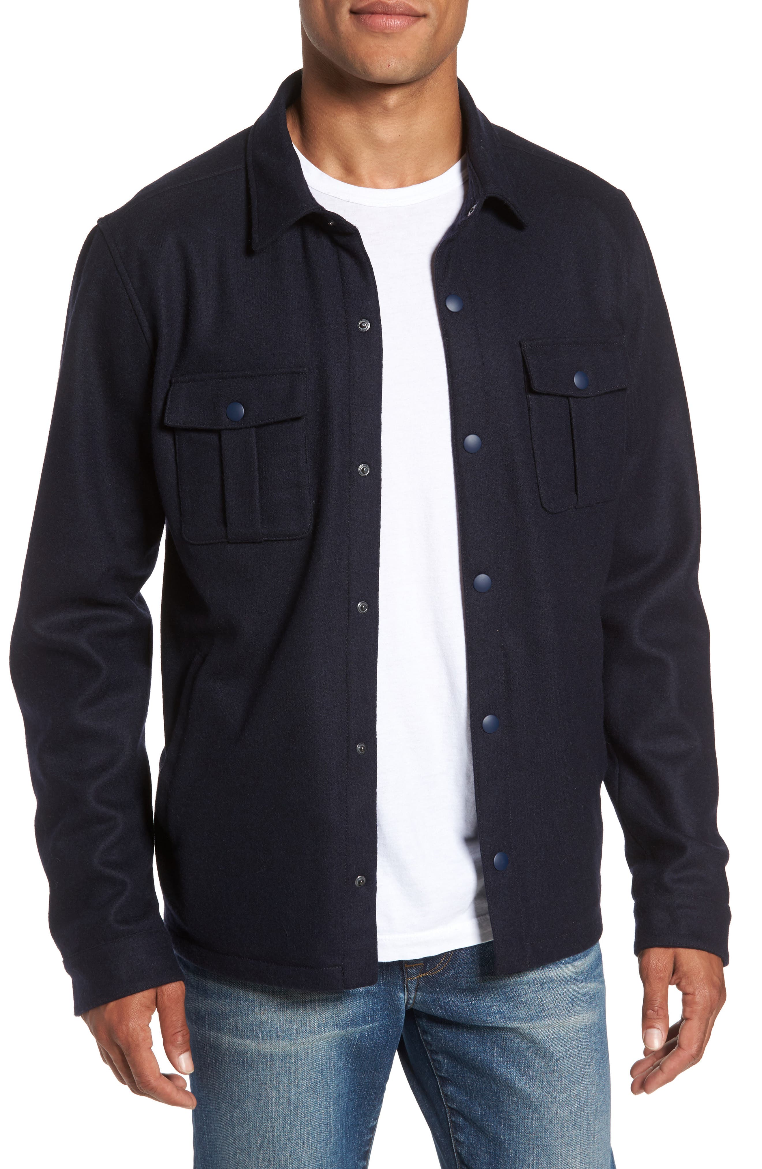 Zachary Prell Seymour Shirt Jacket