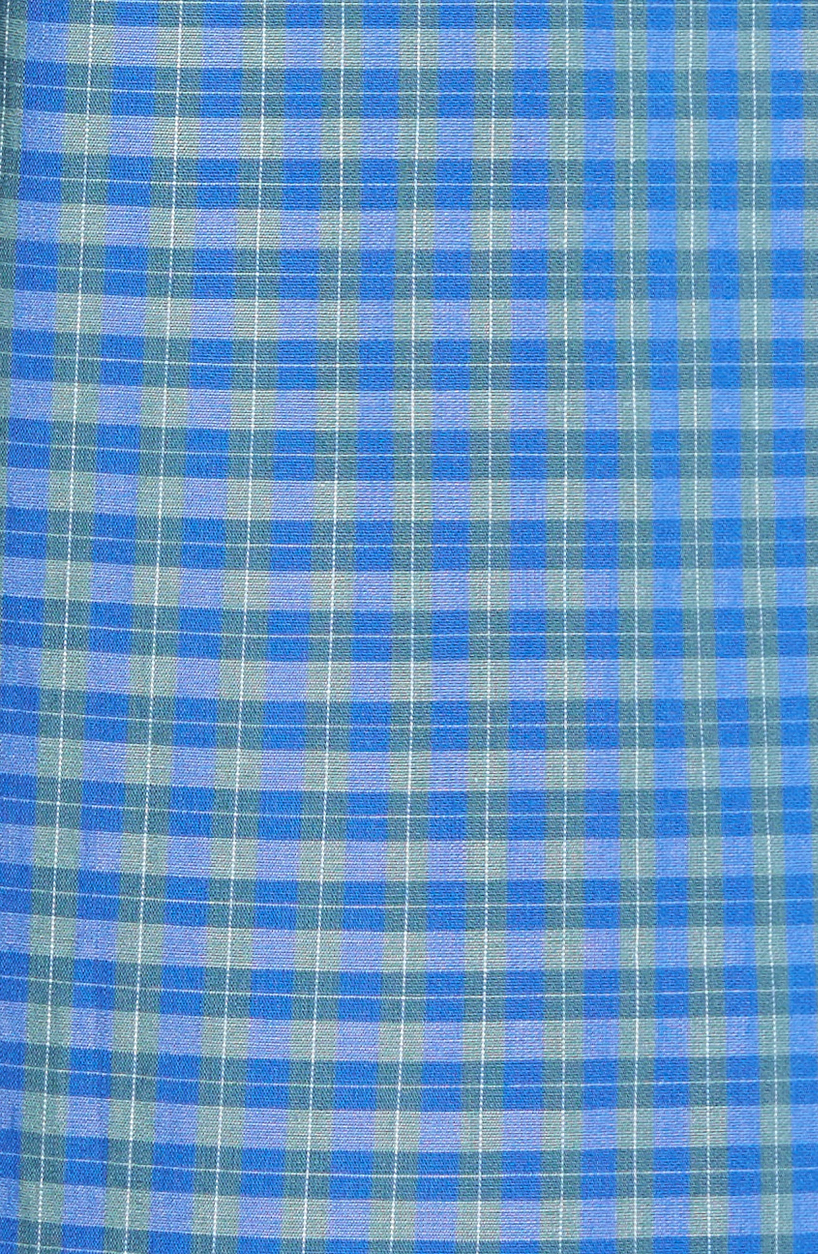 Alternate Image 5  - Ledbury Alden Slim Fit Plaid Sport Shirt