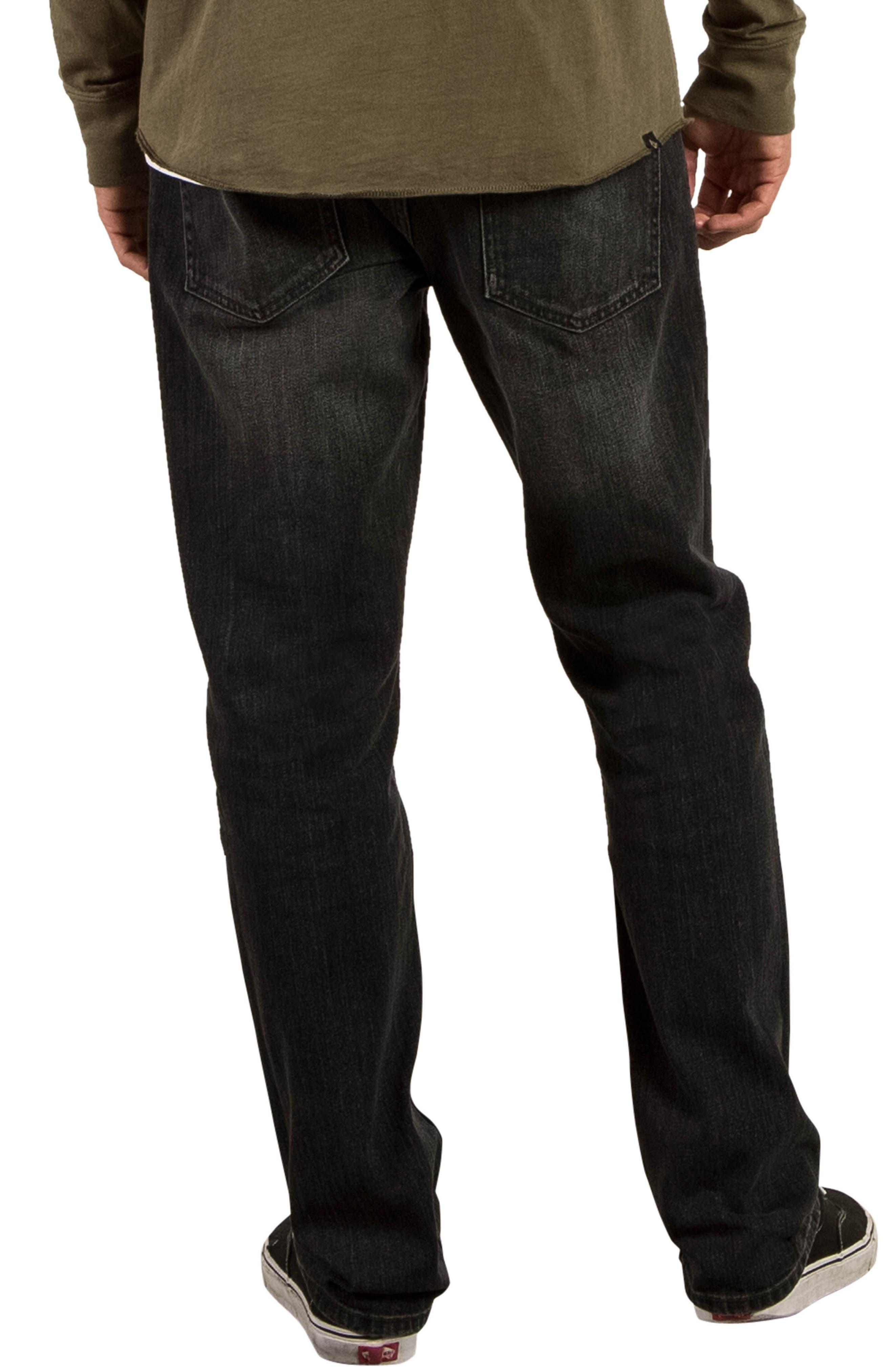 Alternate Image 2  - Volcom Kinkade Tapered Leg Jeans