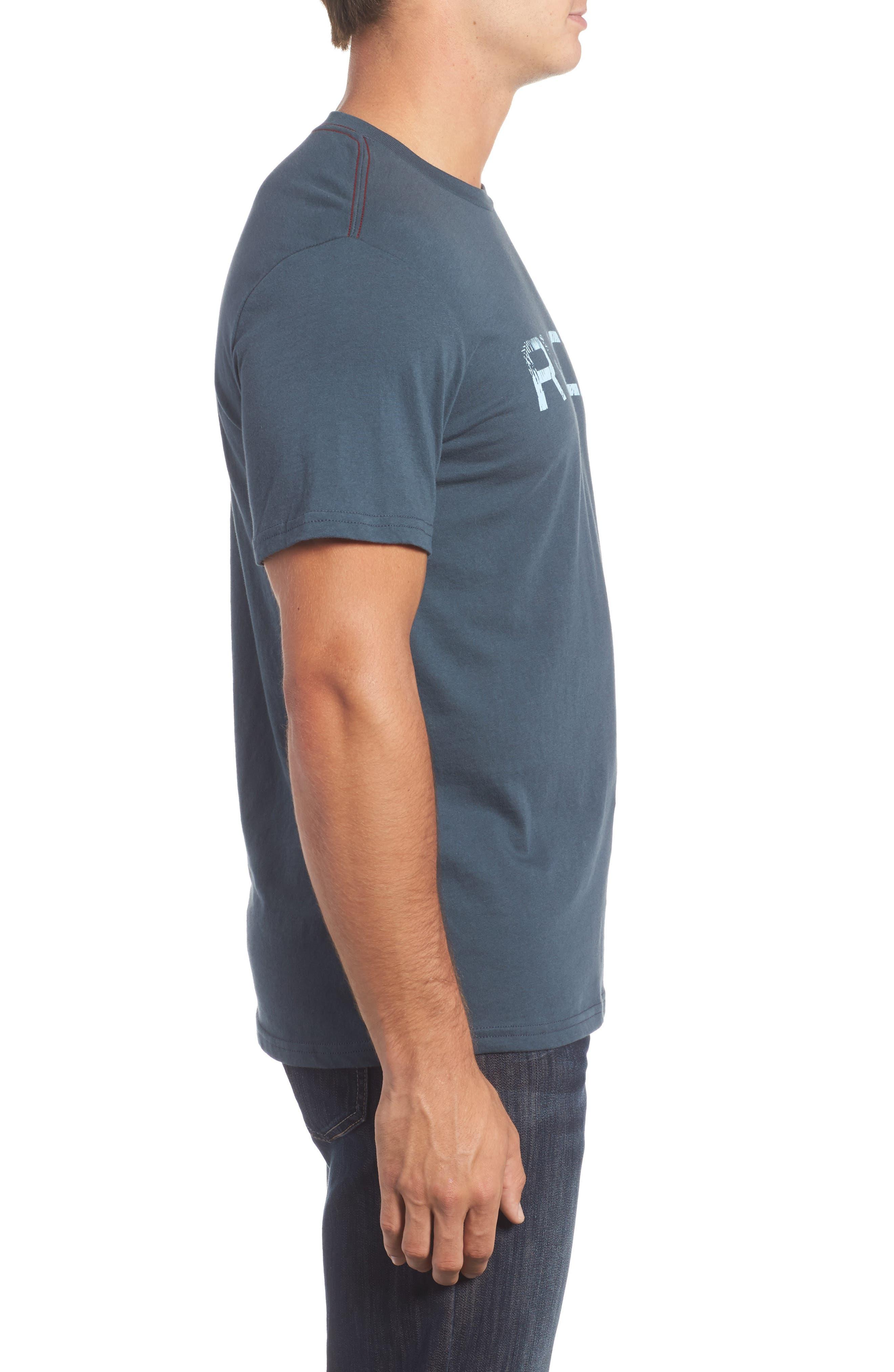 Big Palm Graphic T-Shirt,                             Alternate thumbnail 3, color,                             Midnight