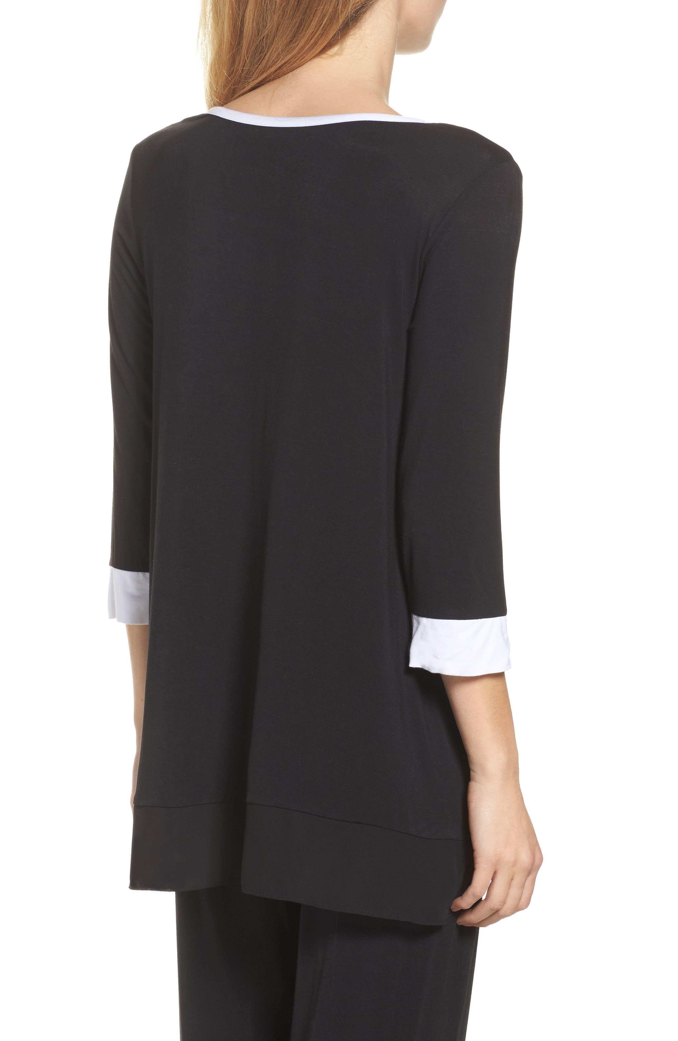 Alternate Image 2  - DKNY Pajama Top