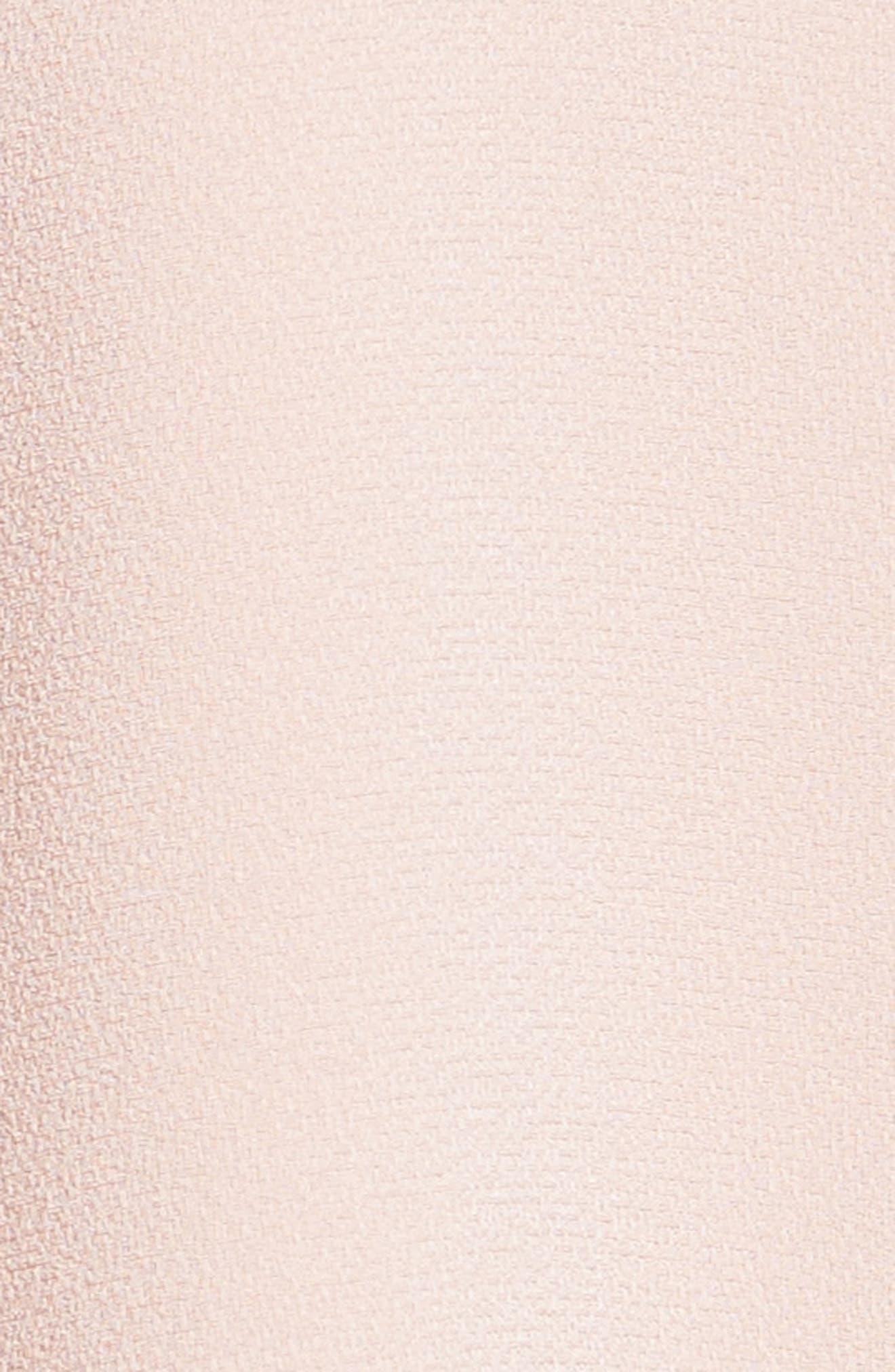 Crepe Peasant Blouse,                             Alternate thumbnail 3, color,                             Blush