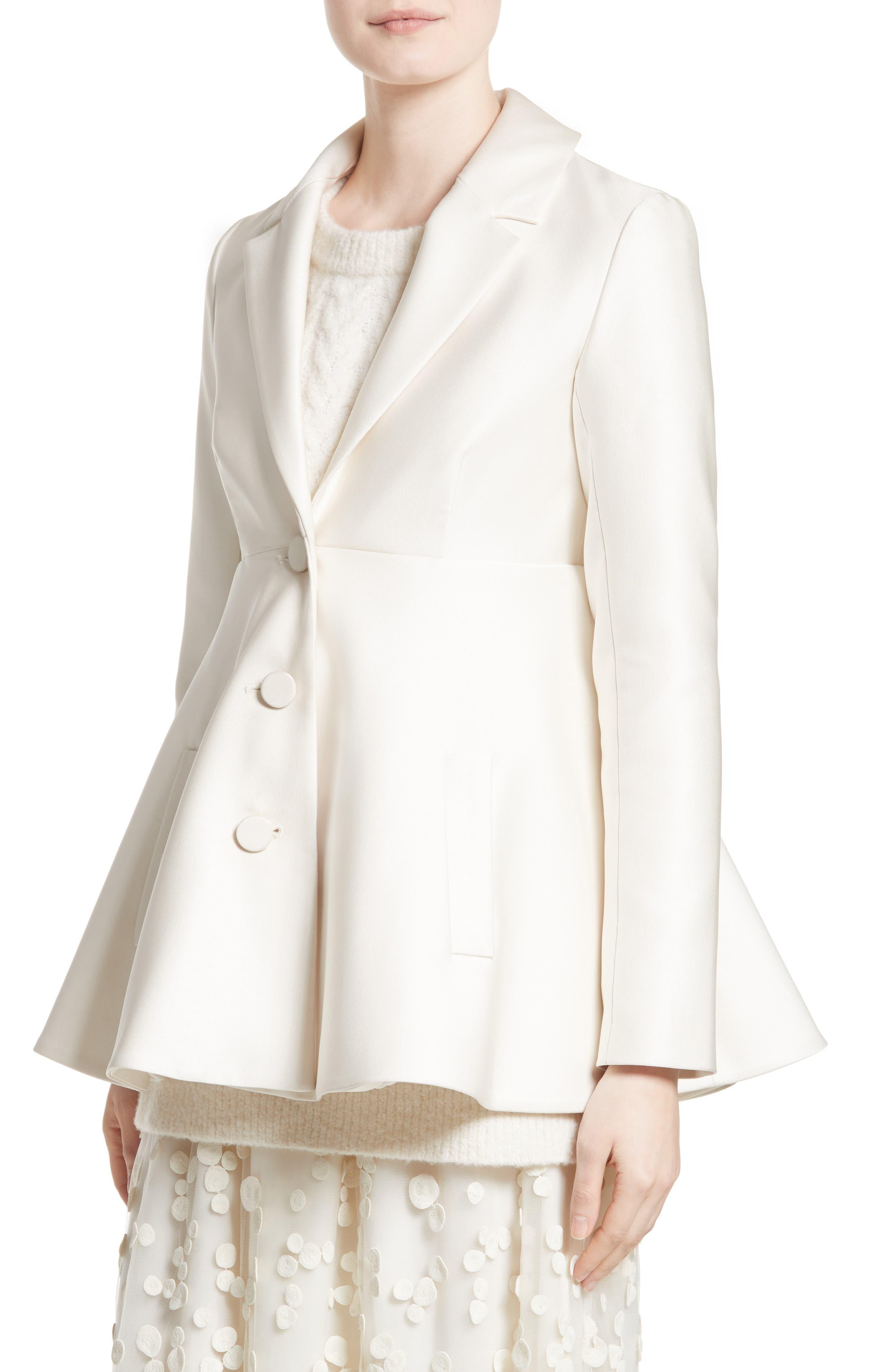 Co Satin A-Line Jacket