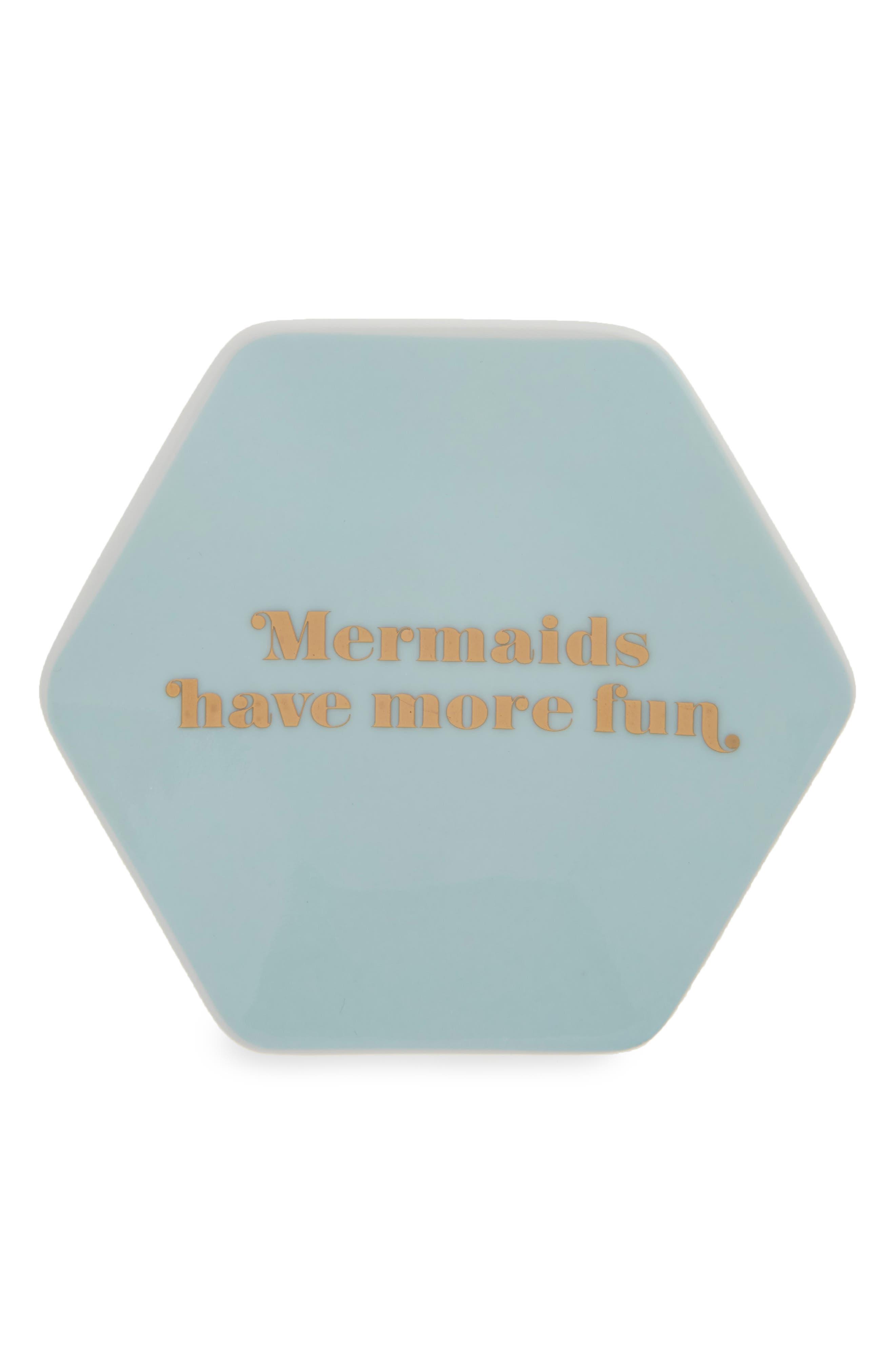 Fringe Studio Mermaids Porcelain Trinket Tray