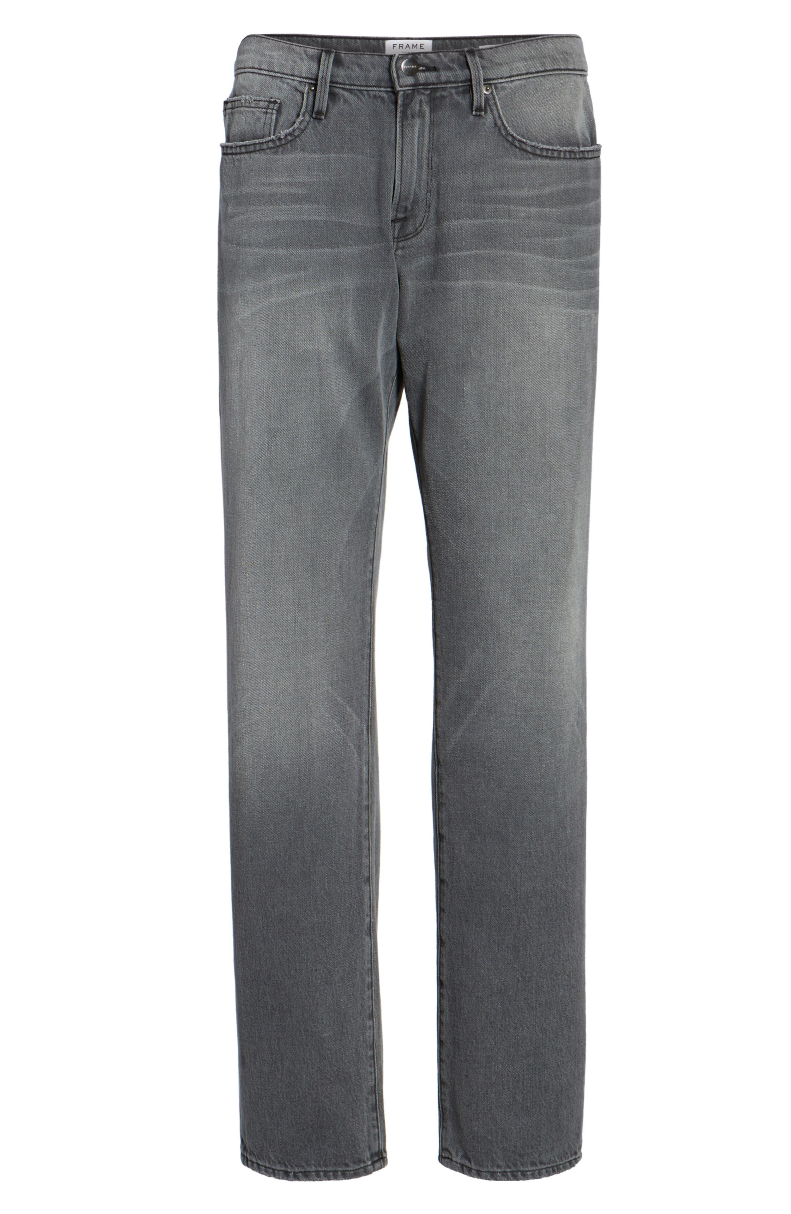 Alternate Image 6  - FRAME L'Homme Slim Straight Leg Jeans (Commodore)