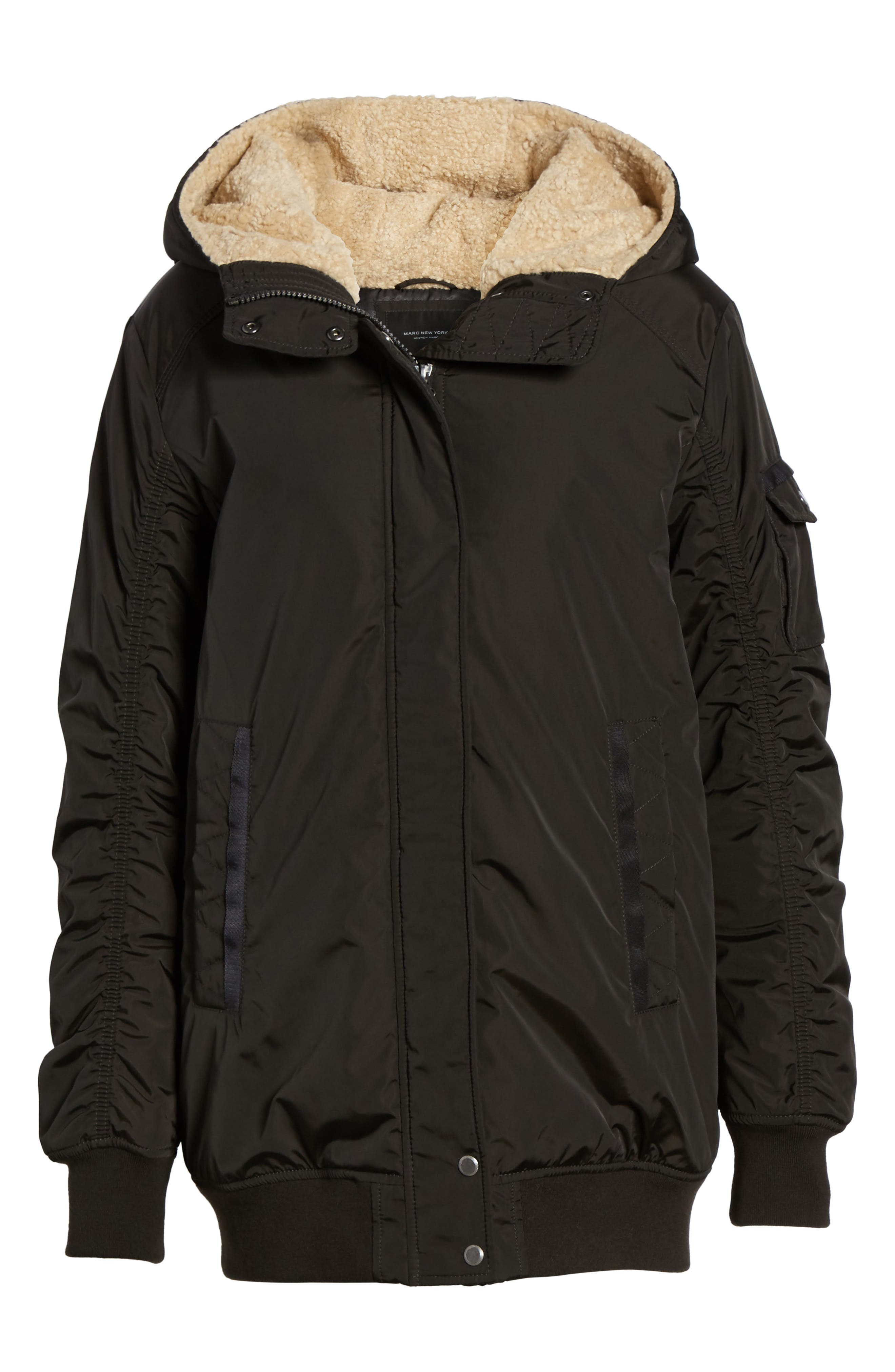 Alternate Image 6  - Andrew Marc Nina Hooded Jacket with Faux Fur Trim