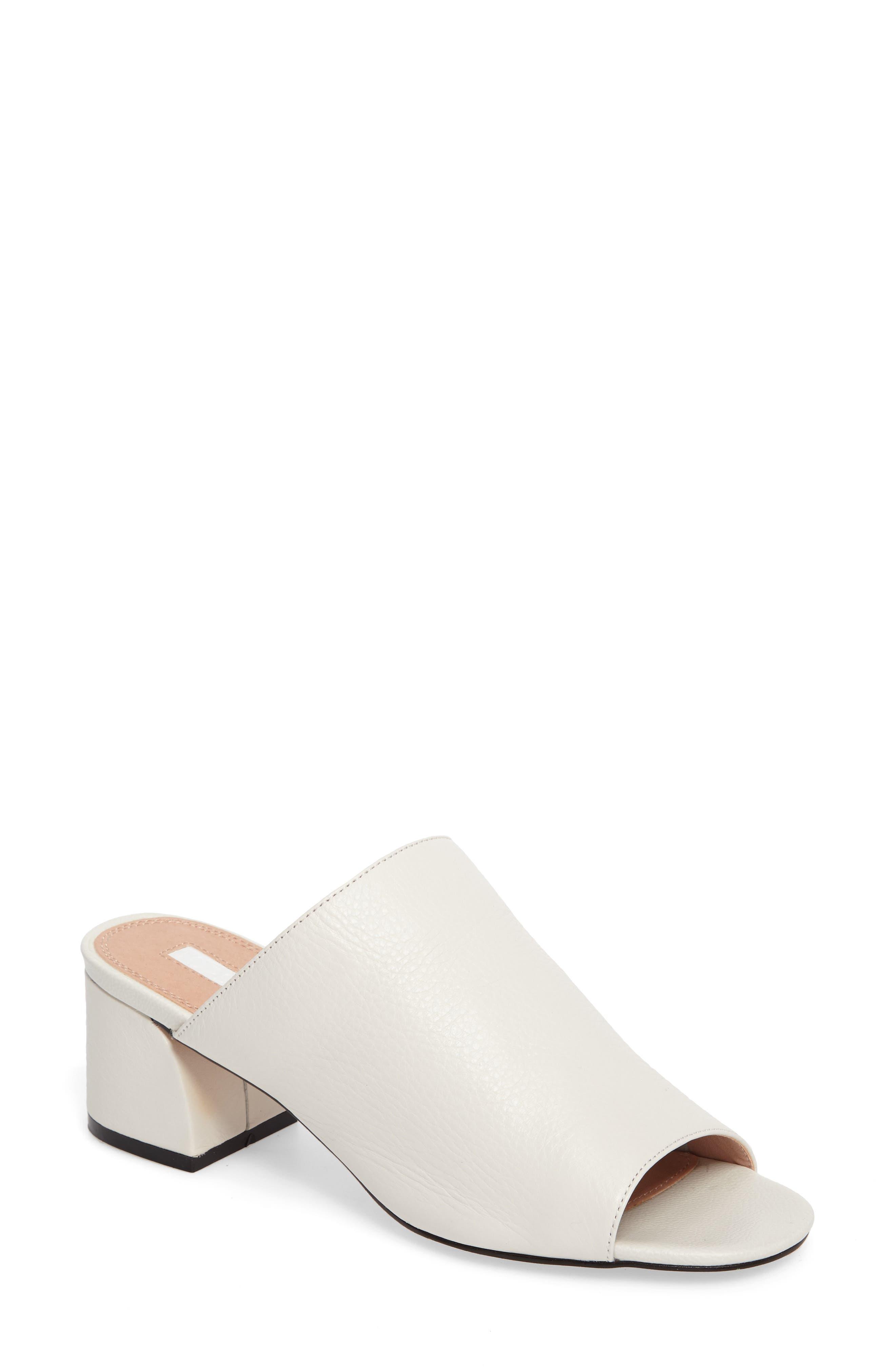 TOPSHOP Notorious Metallic Slide Sandal