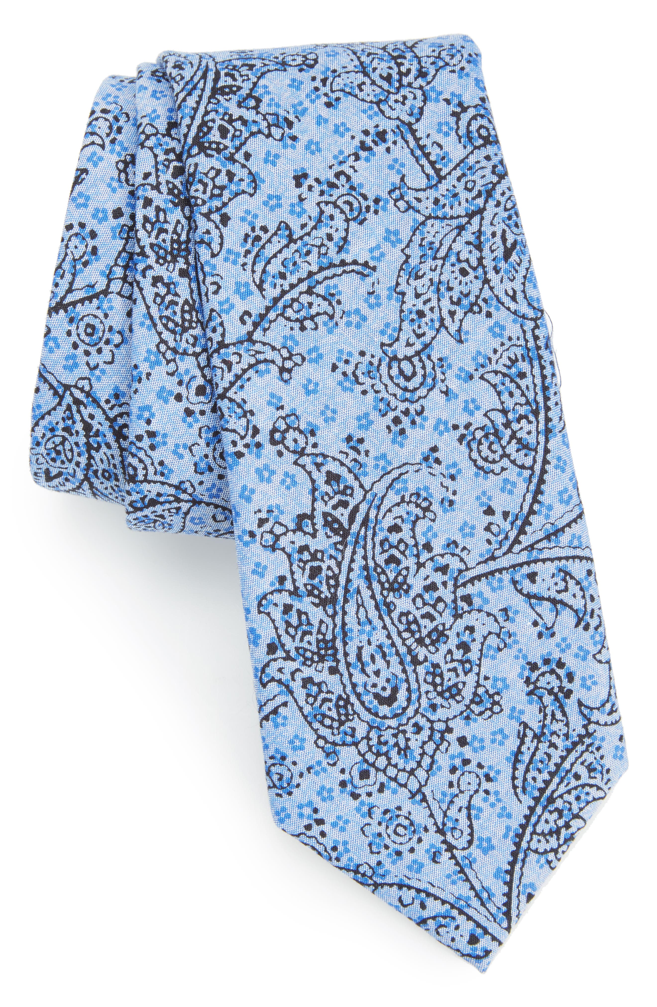 CALIBRATE Hunter Paisley Cotton Tie