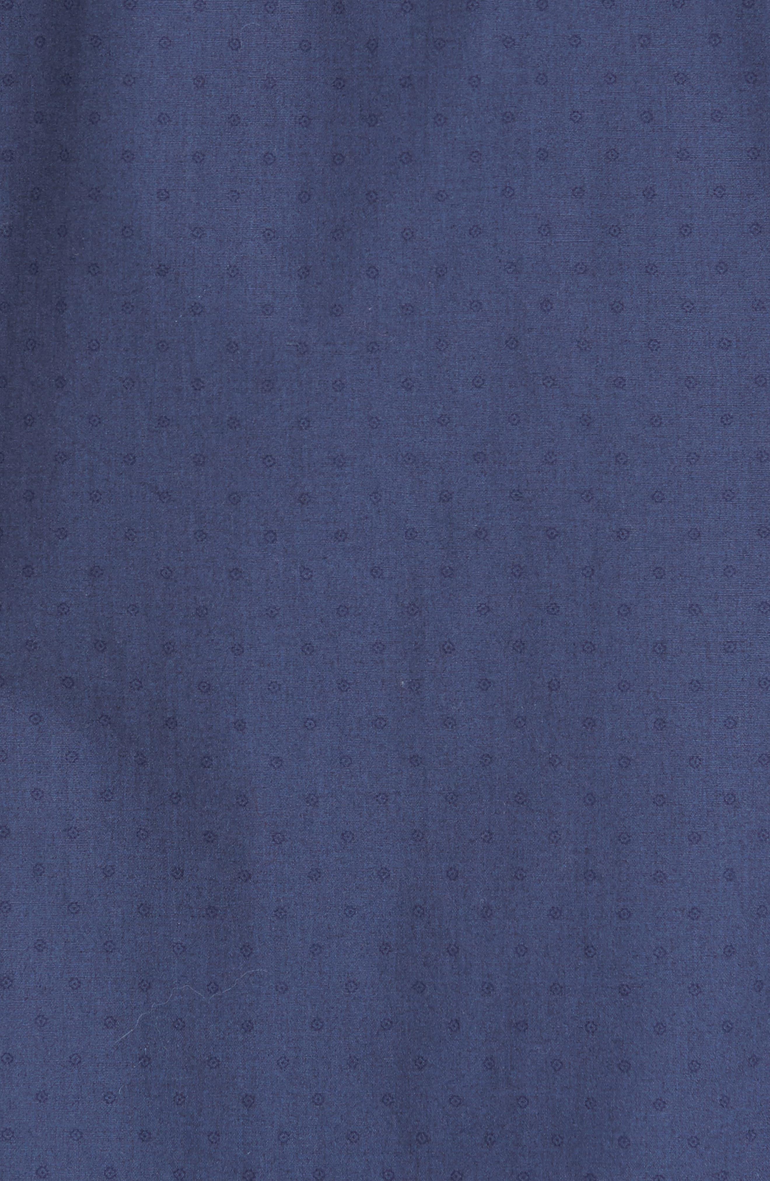 Alternate Image 5  - Eleventy Dot Print Sport Shirt