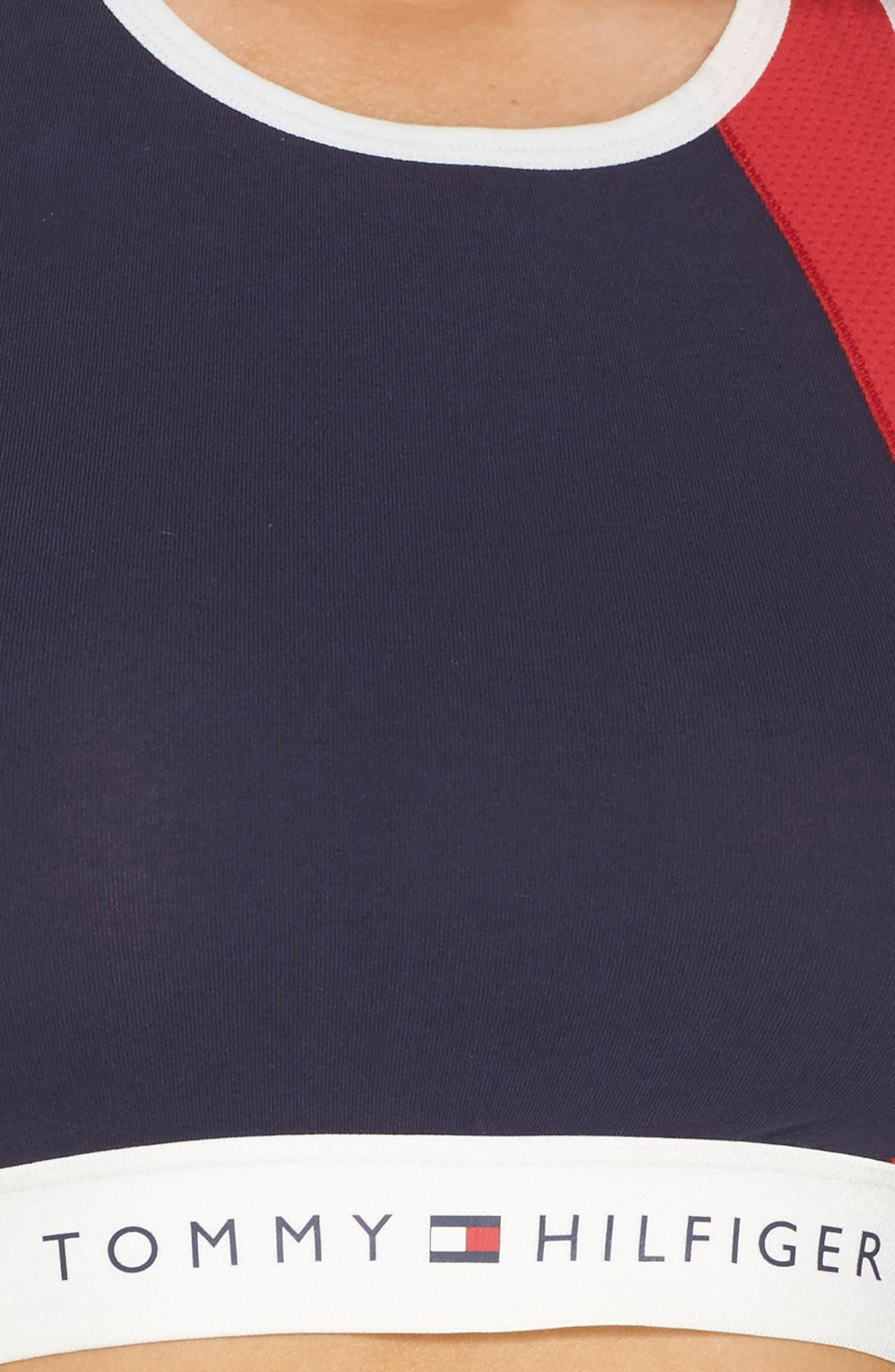 Alternate Image 5  - Tommy Hilfiger Logo Bralette