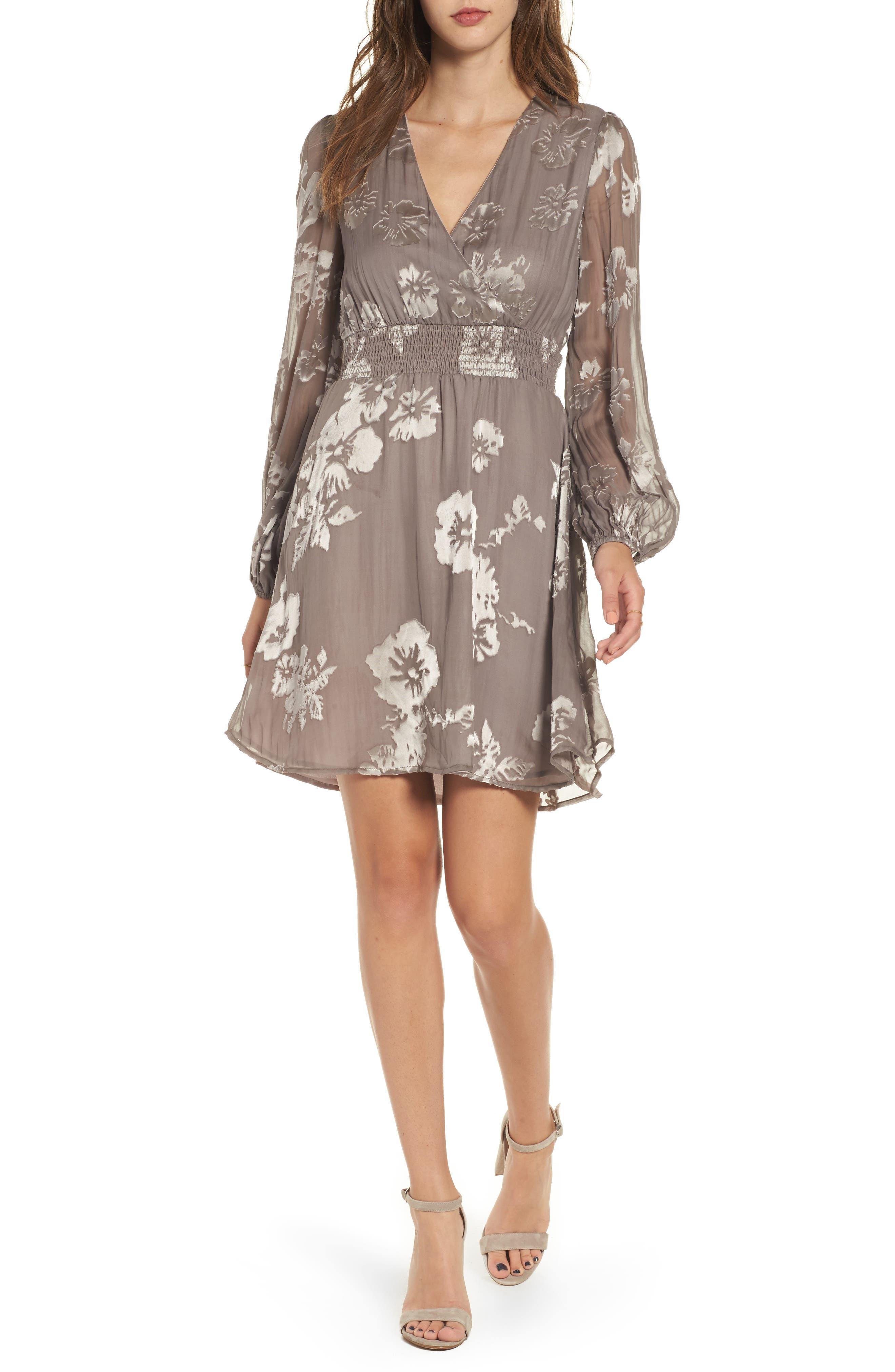 ASTR the Label Mabeline Fit & Flare Dress