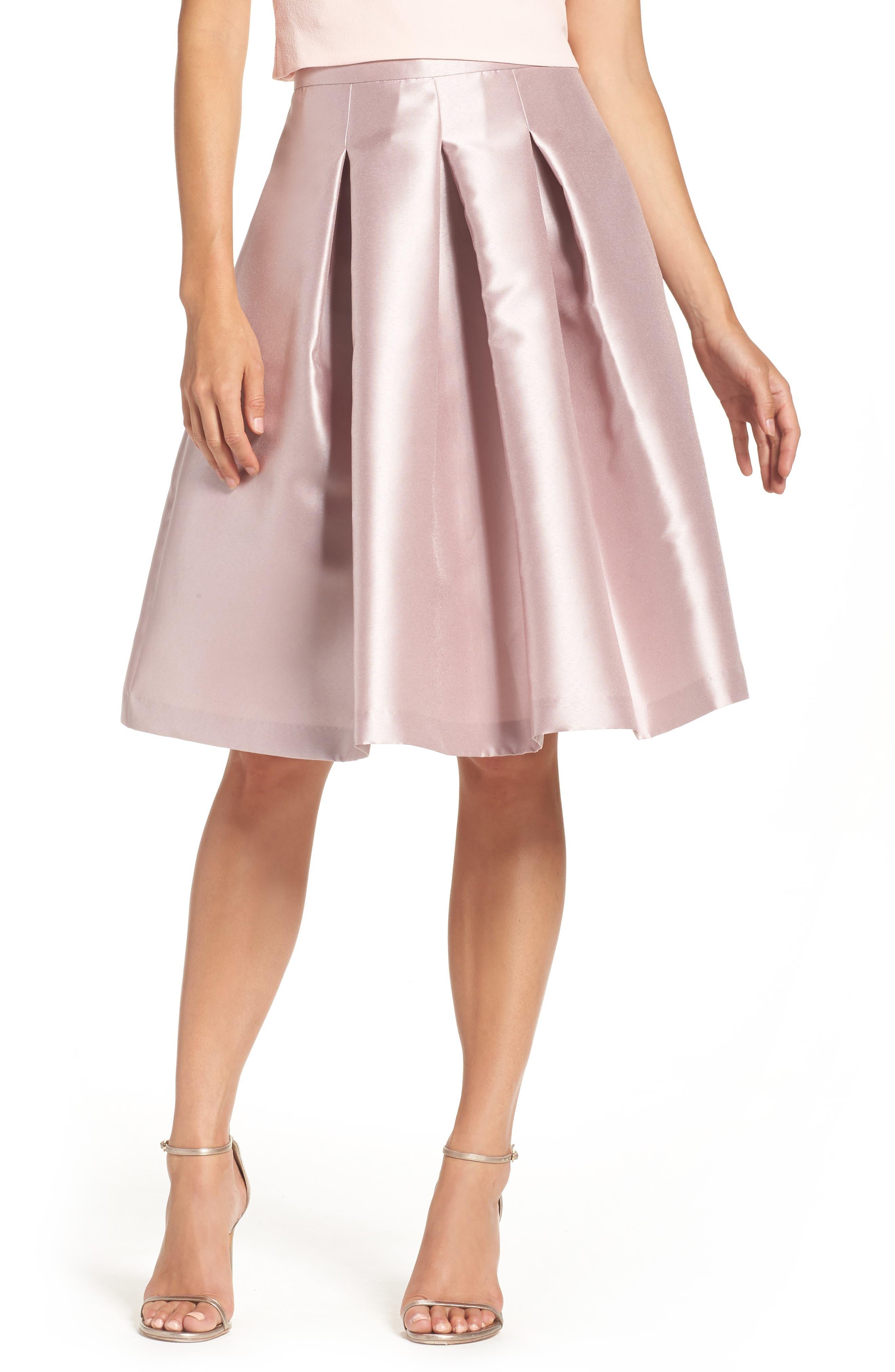 Release Pleat Full Skirt,                         Main,                         color, Mauve