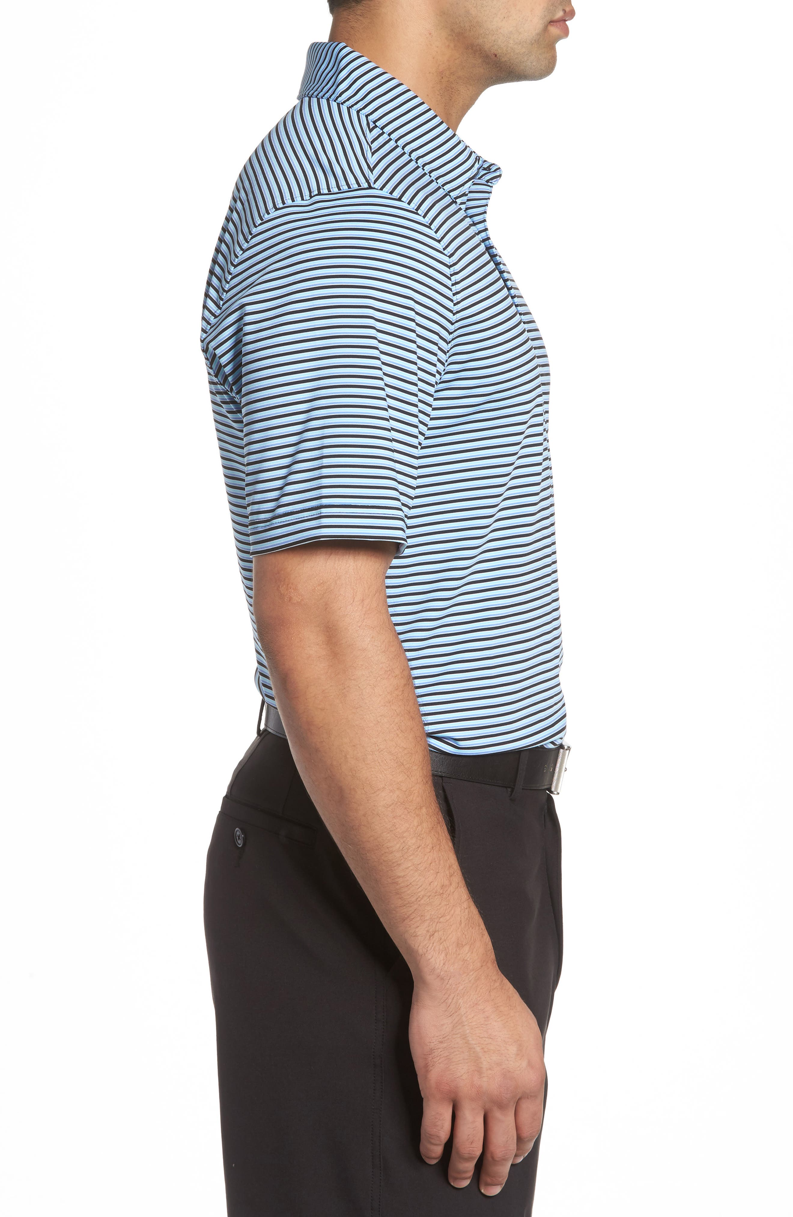 Alternate Image 3  - Cutter & Buck Division Stripe Jersey Polo