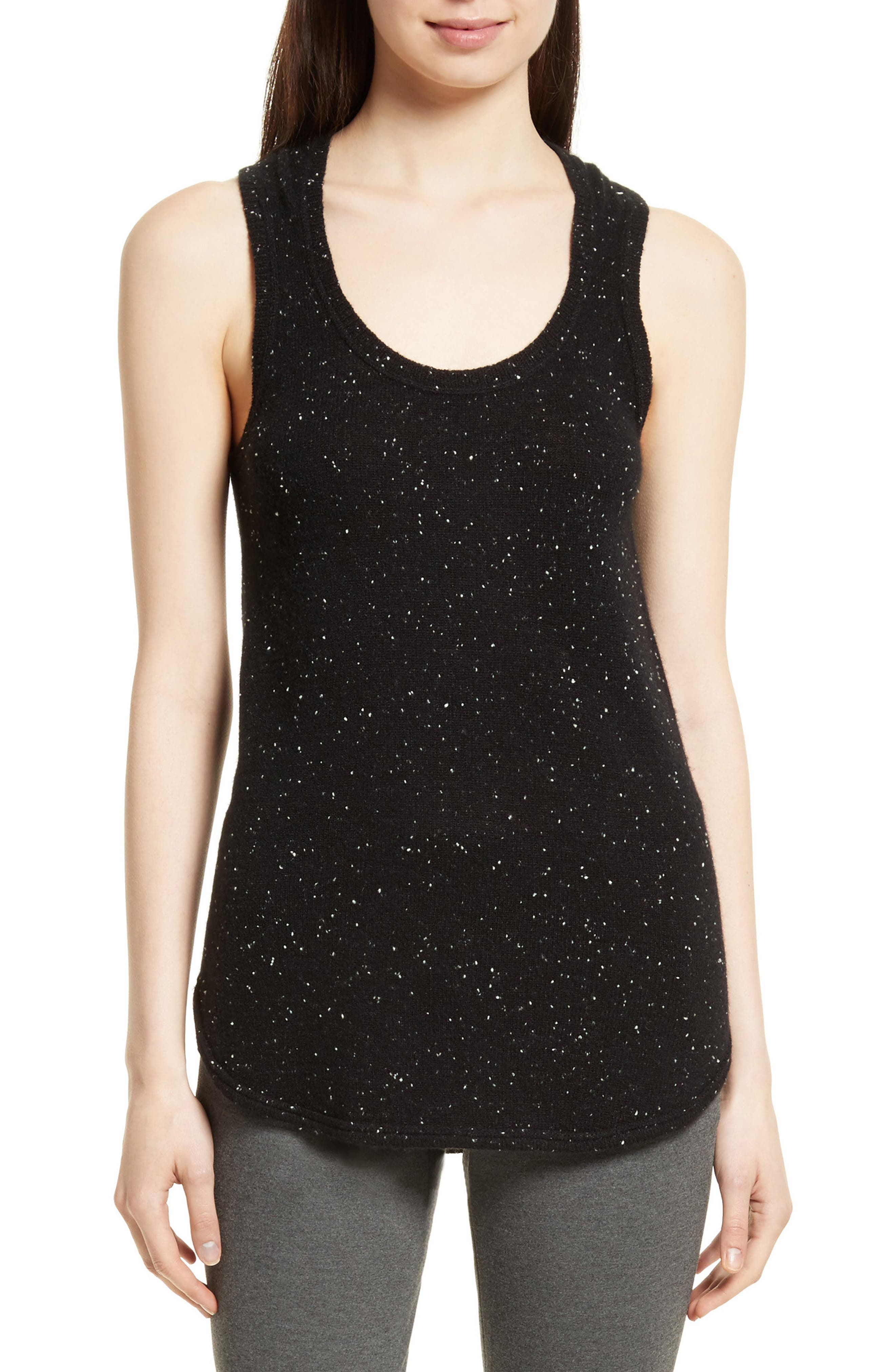 Donegal Cashmere Tank,                         Main,                         color, Tinder