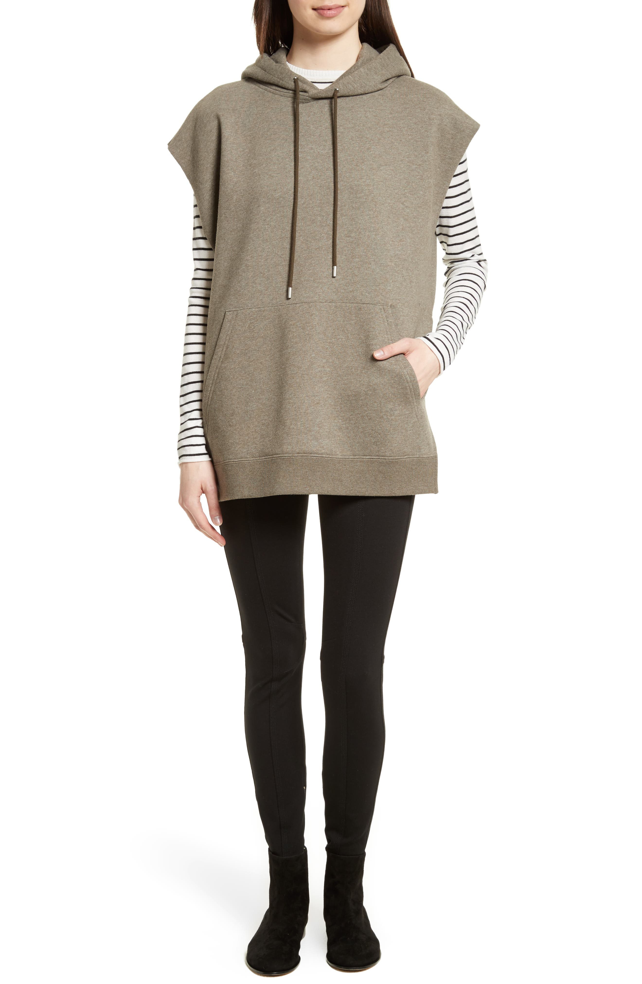 Stripe Silk Blend Sweater,                             Alternate thumbnail 6, color,                             Chalk/ Black