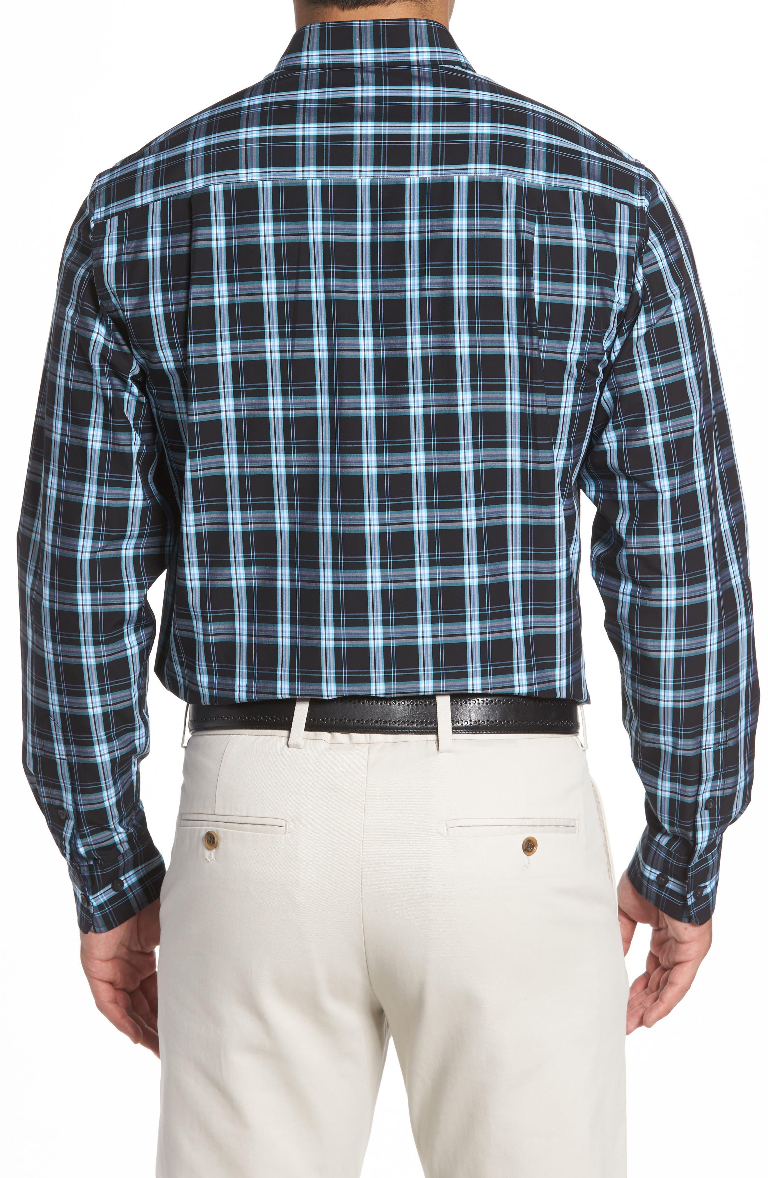 Summerland Non-Iron Plaid Sport Shirt,                             Alternate thumbnail 2, color,                             Wisteria