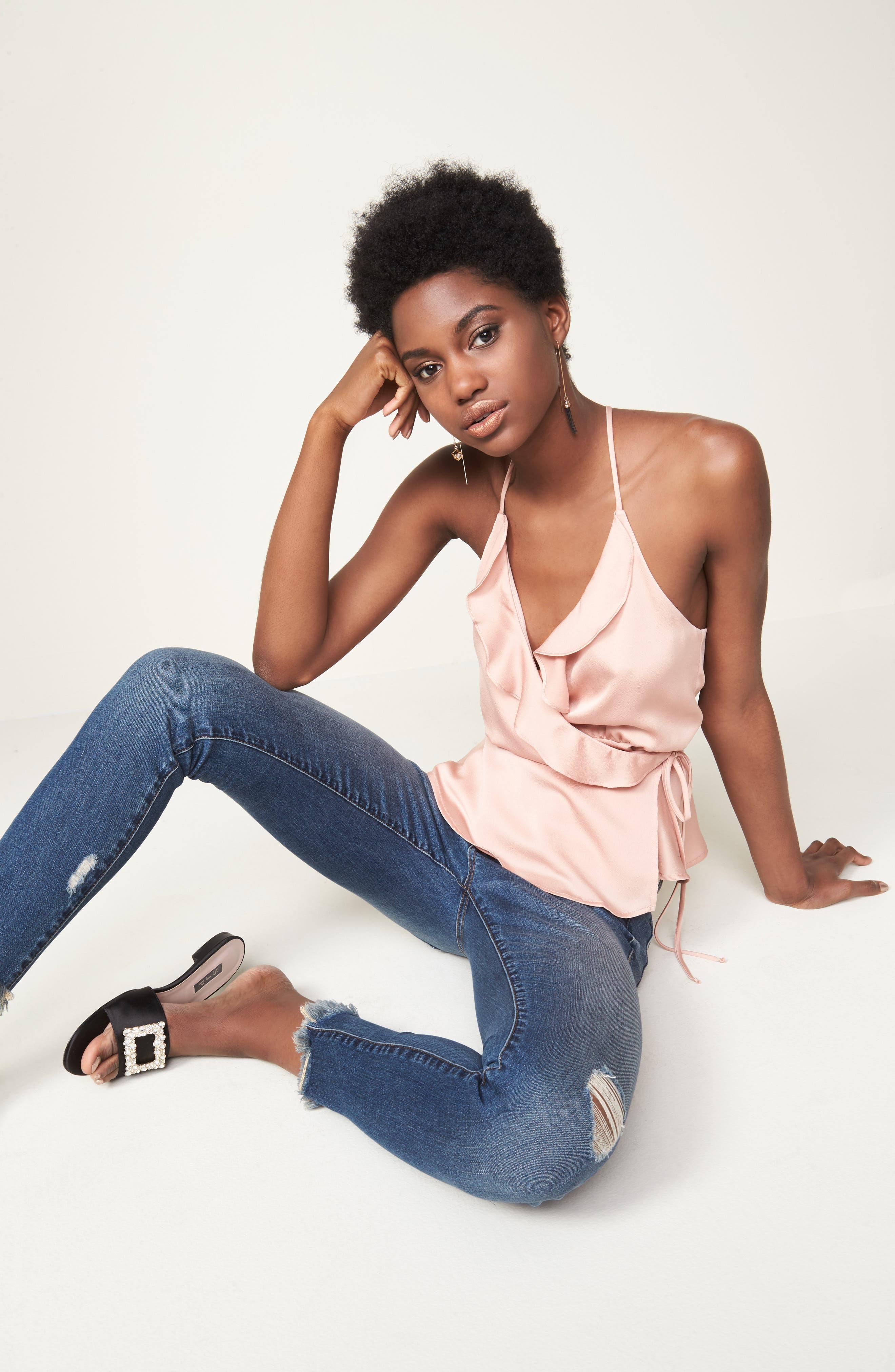 Alternate Image 7  - BLANKNYC Skinny Ankle Jeans