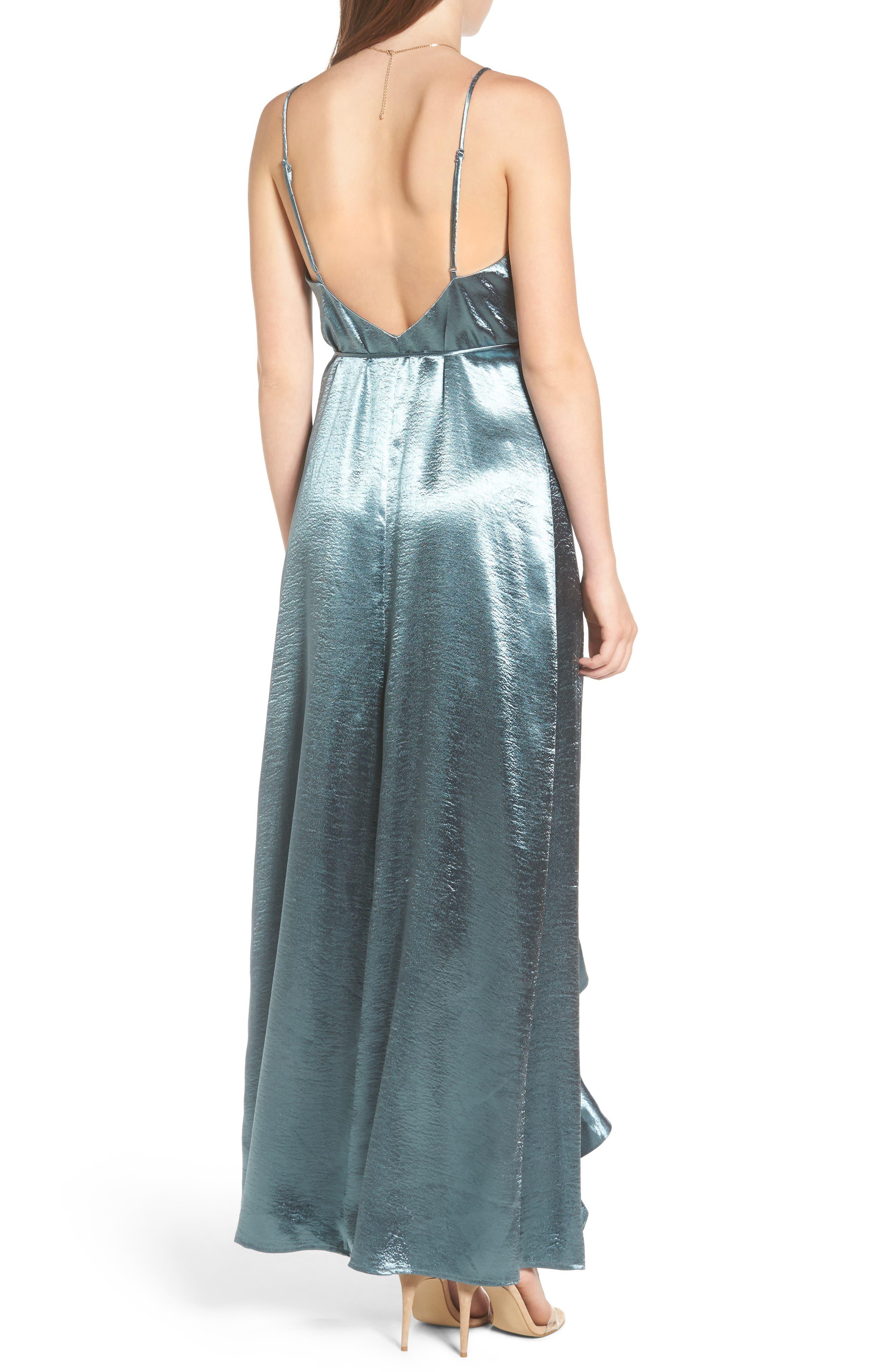 Alternate Image 2  - Privacy Please Pelican Wrap Maxi Dress