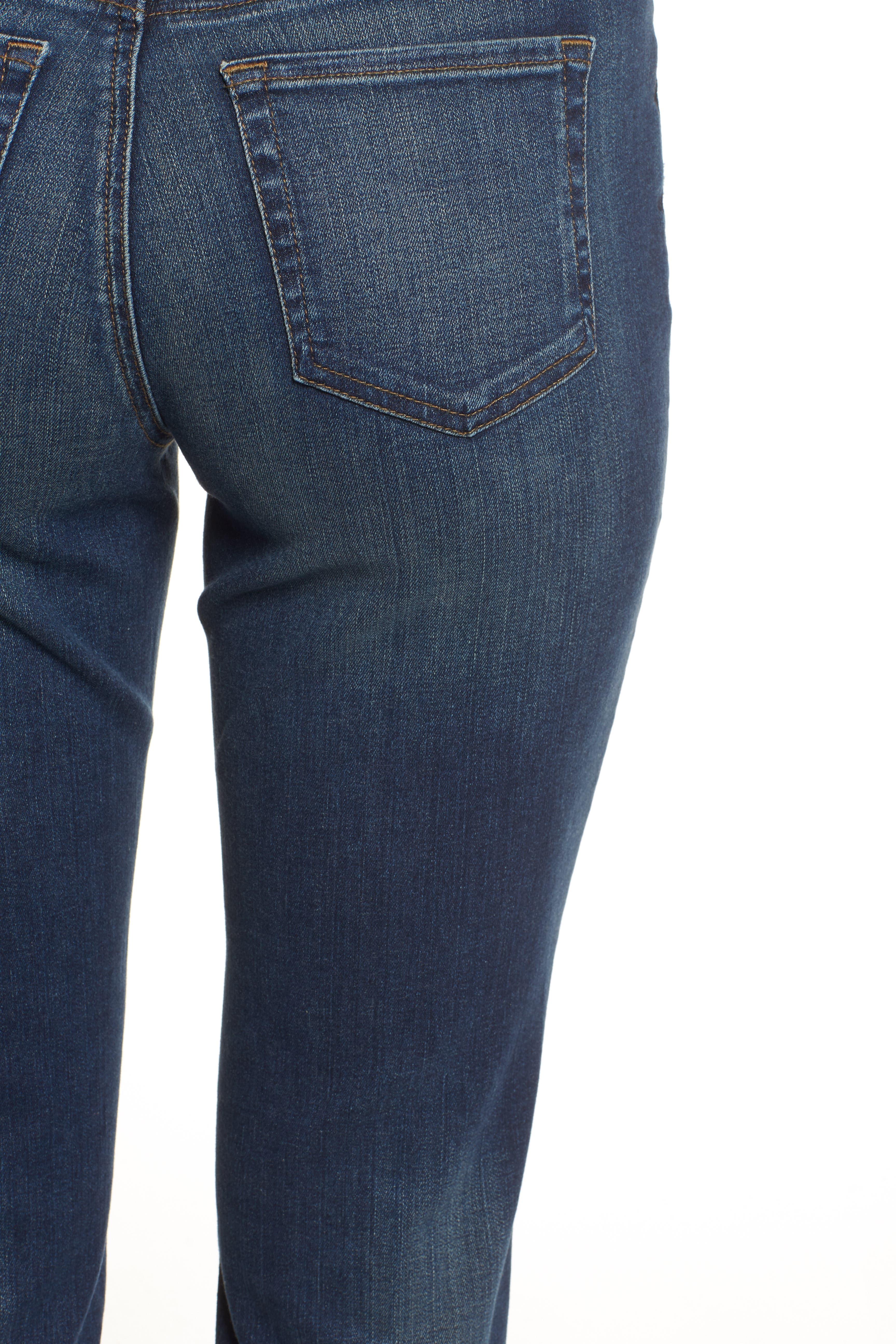 Alternate Image 5  - NYDJ Stretch Boyfriend Jeans (Regular & Petite)
