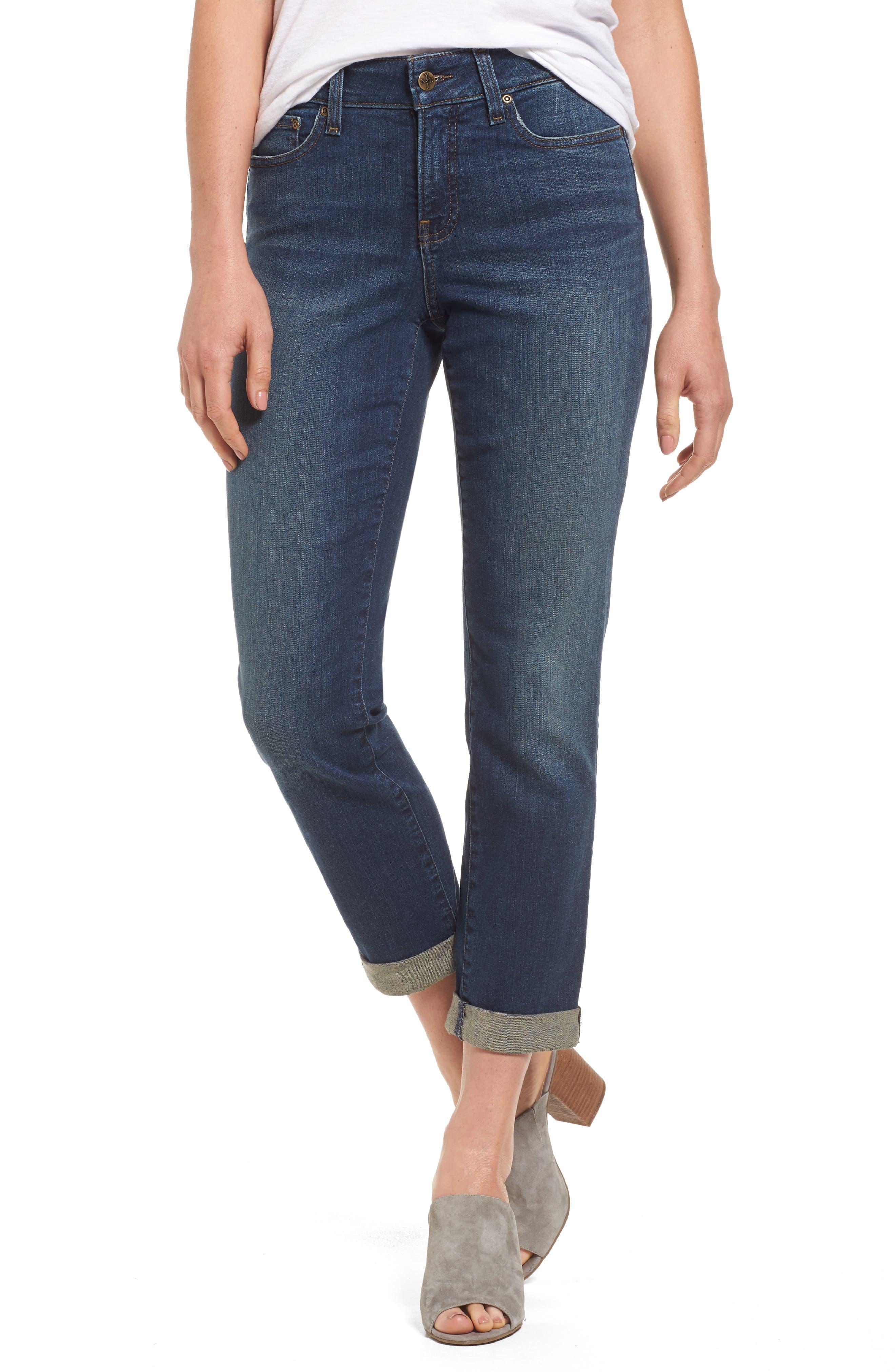 NYDJ Stretch Boyfriend Jeans (Regular & Petite)