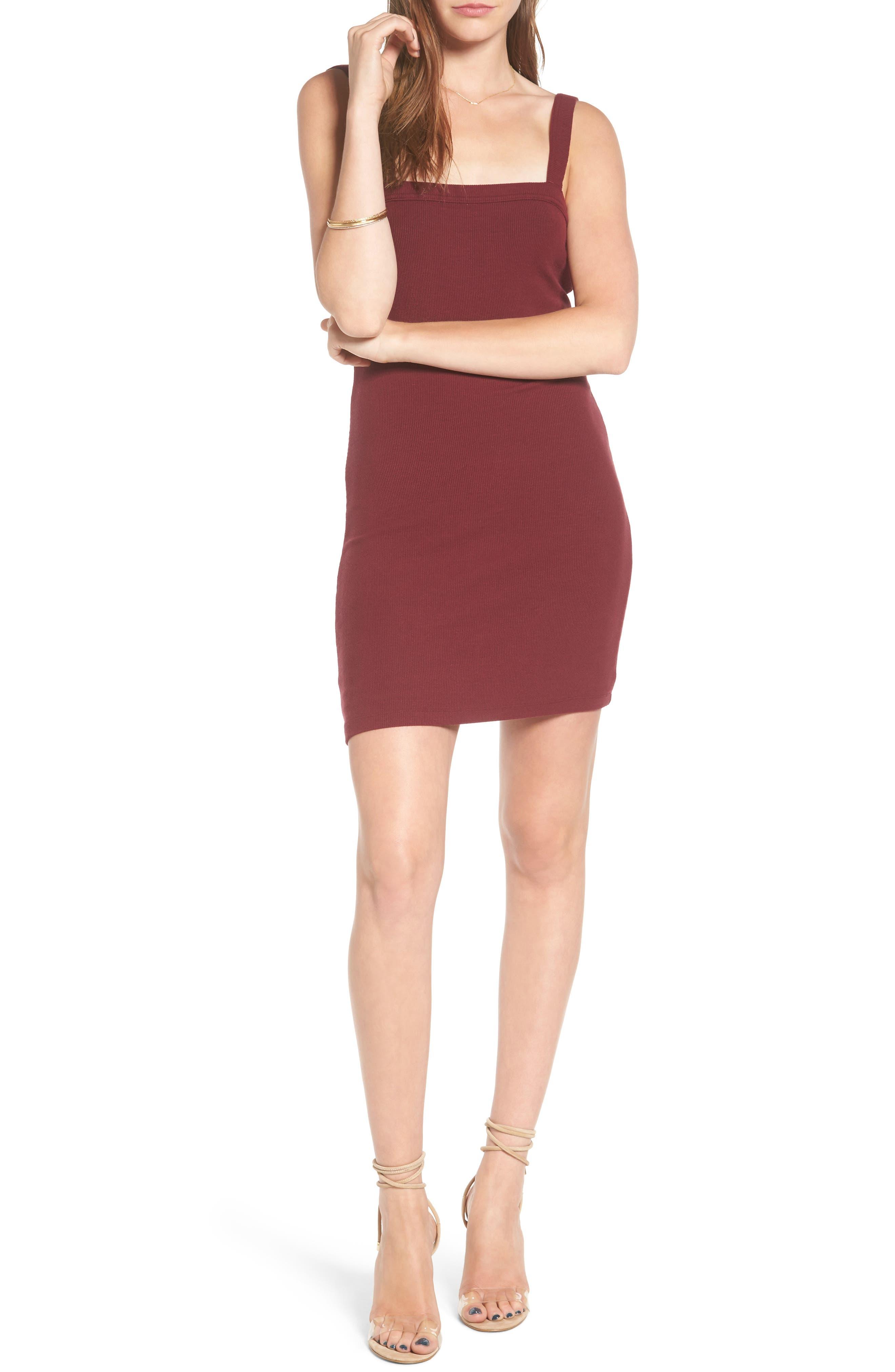 Main Image - Privacy Please Bradian Body-Con Dress