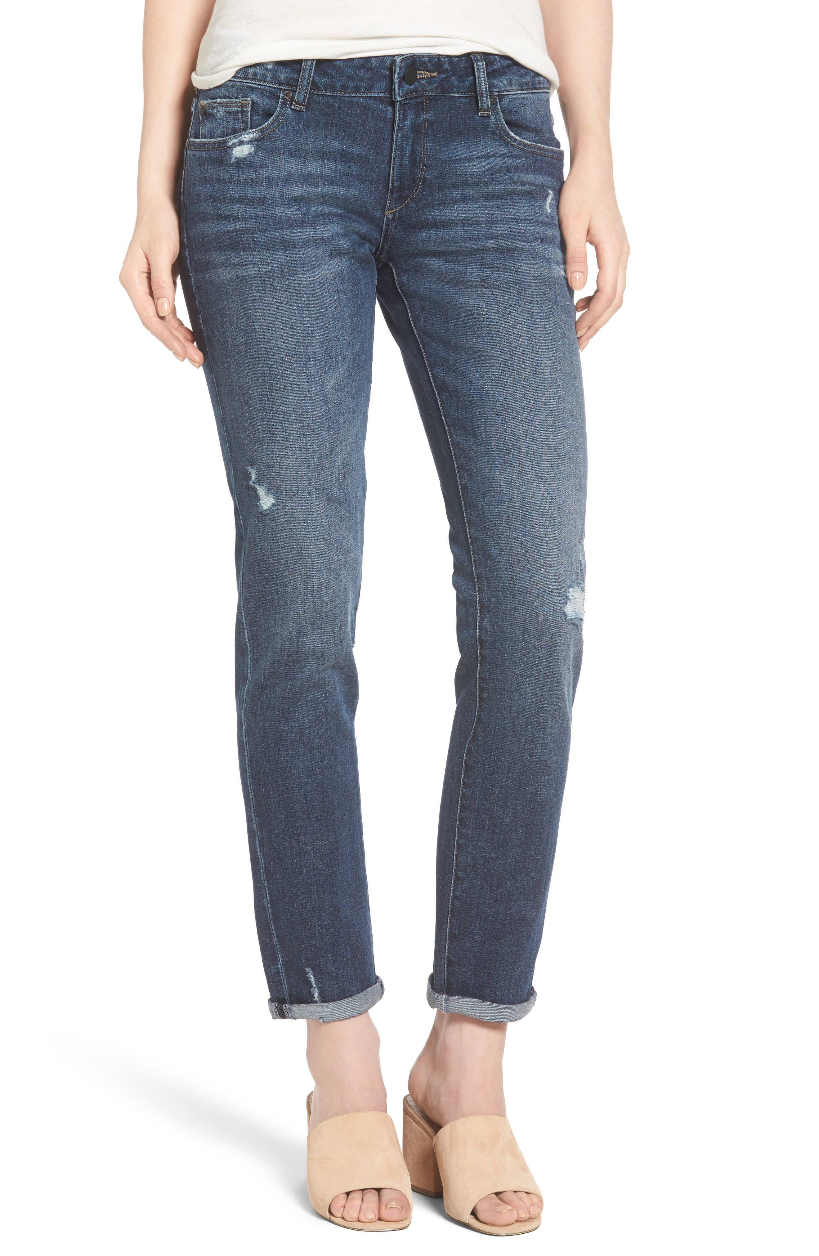 Alternate Image 1 Selected - DL1961 Riley Boyfriend Jeans (Hayden)