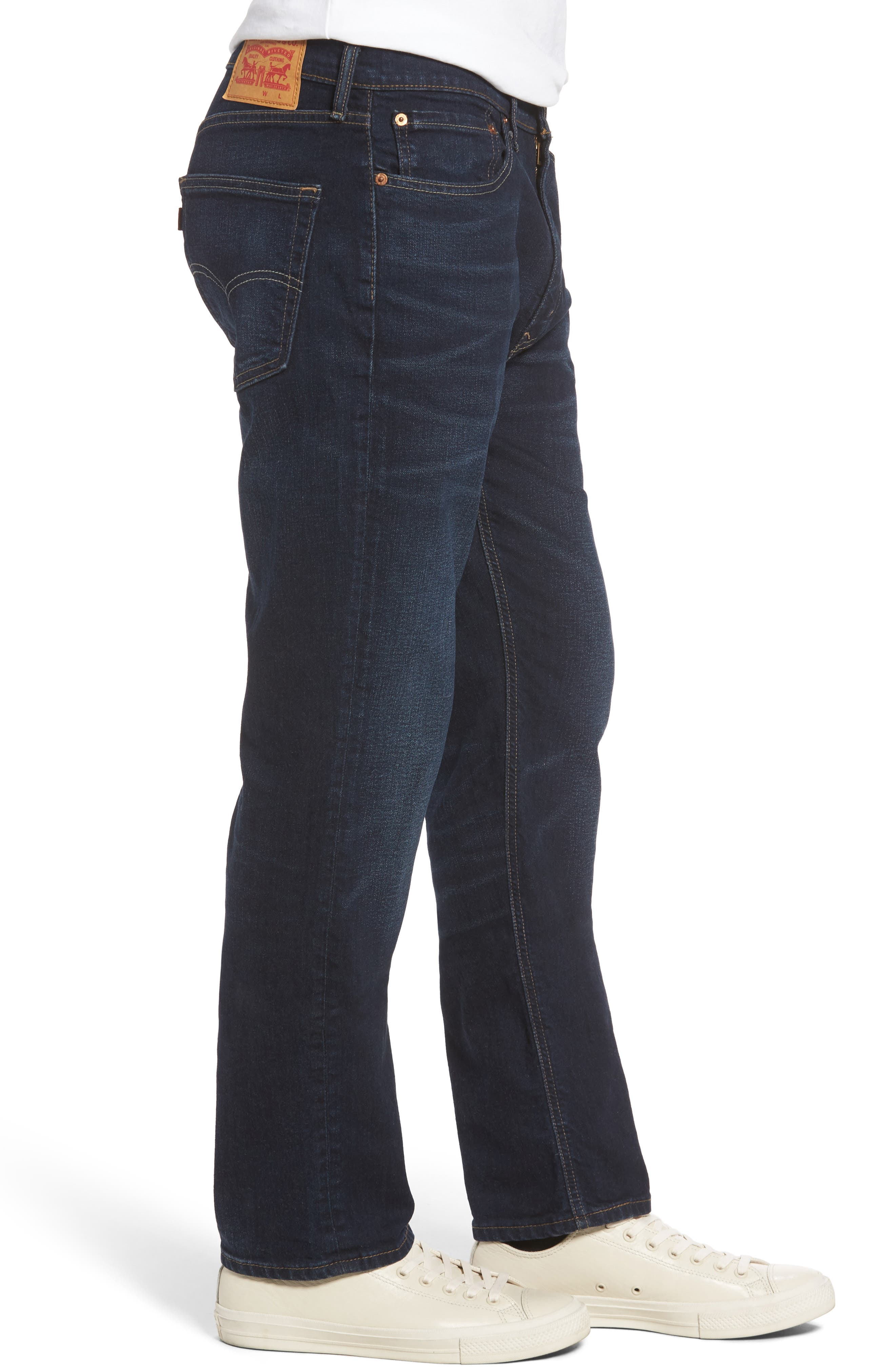 541<sup>™</sup> Athletic Straight Leg Jeans,                             Alternate thumbnail 4, color,                             King Blue