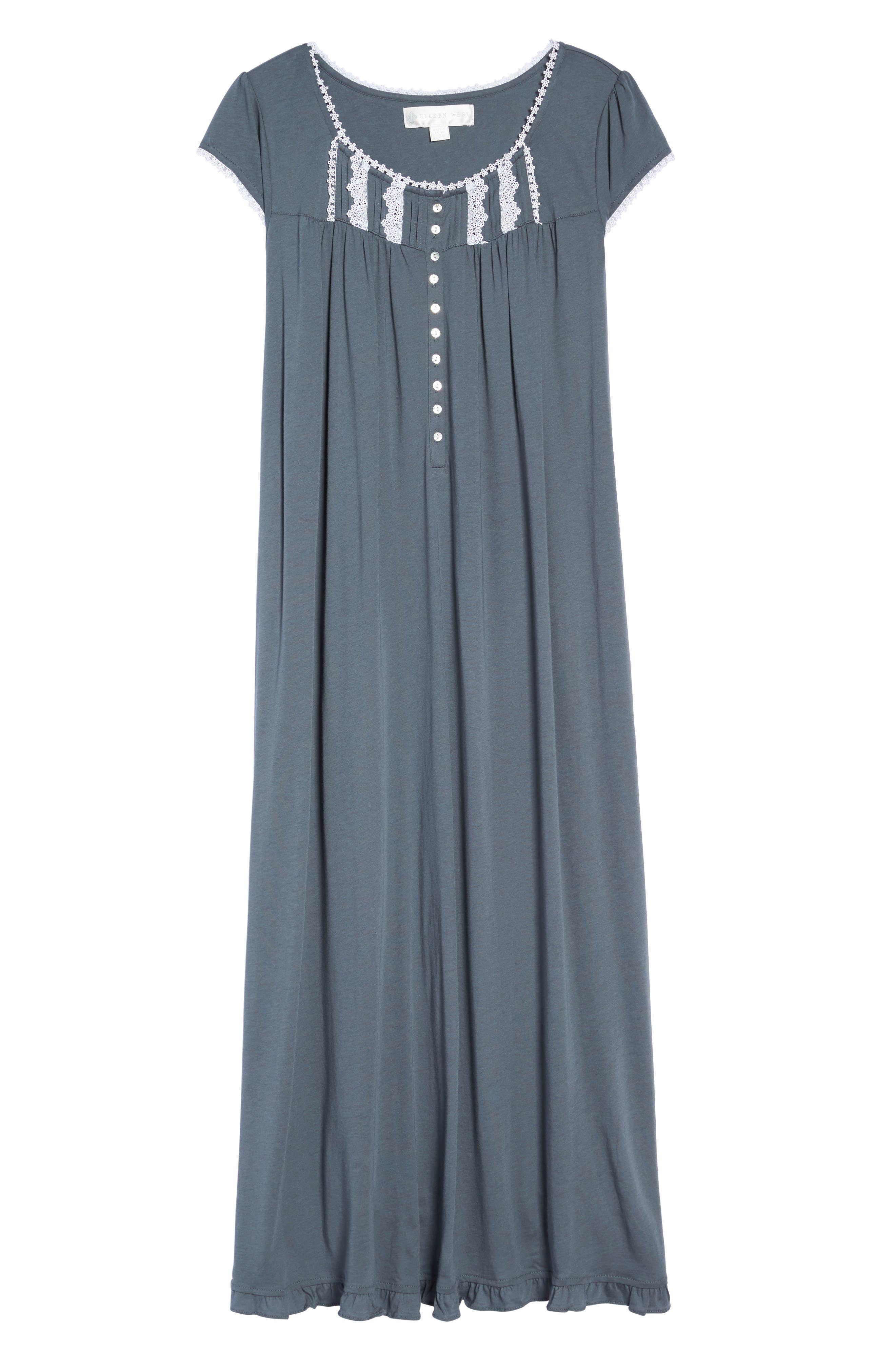 Alternate Image 4  - Eileen West Cotton & Modal Ballet Nightgown
