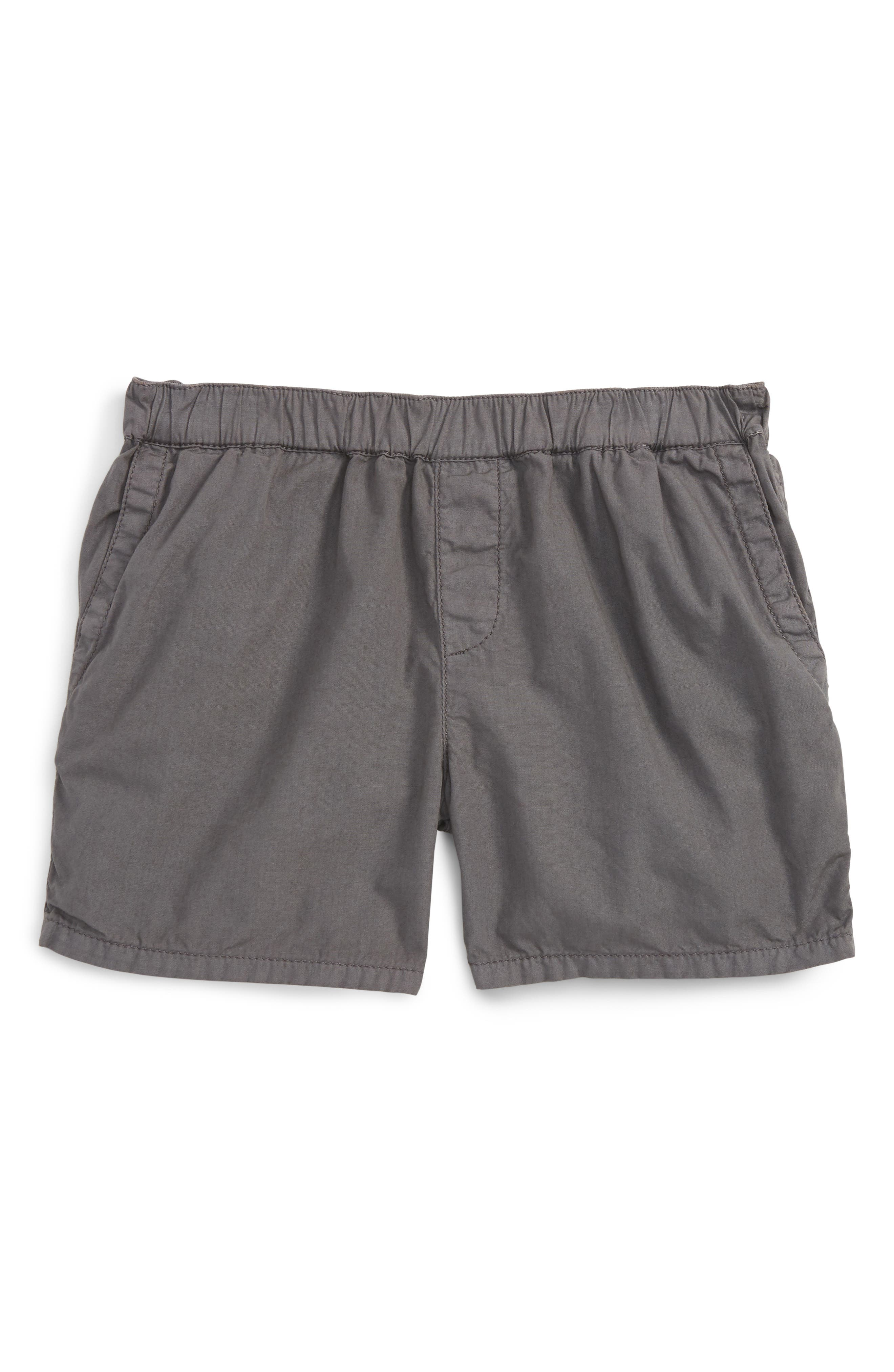 Alternate Image 1 Selected - Peek Cotton Twill Shorts (Baby Boys)
