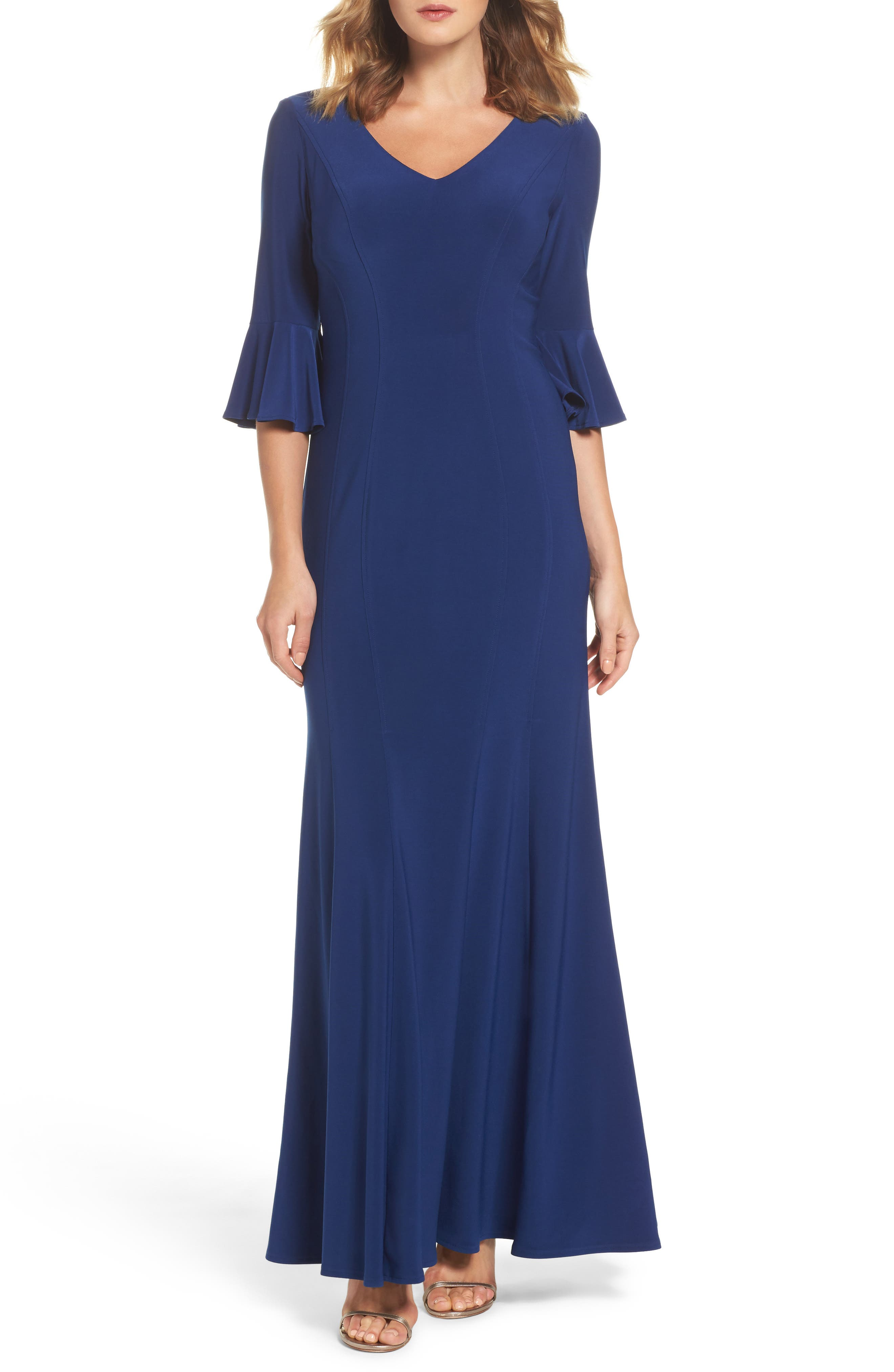 Alternate Image 1 Selected - Alex Evenings Fit & Flare Gown