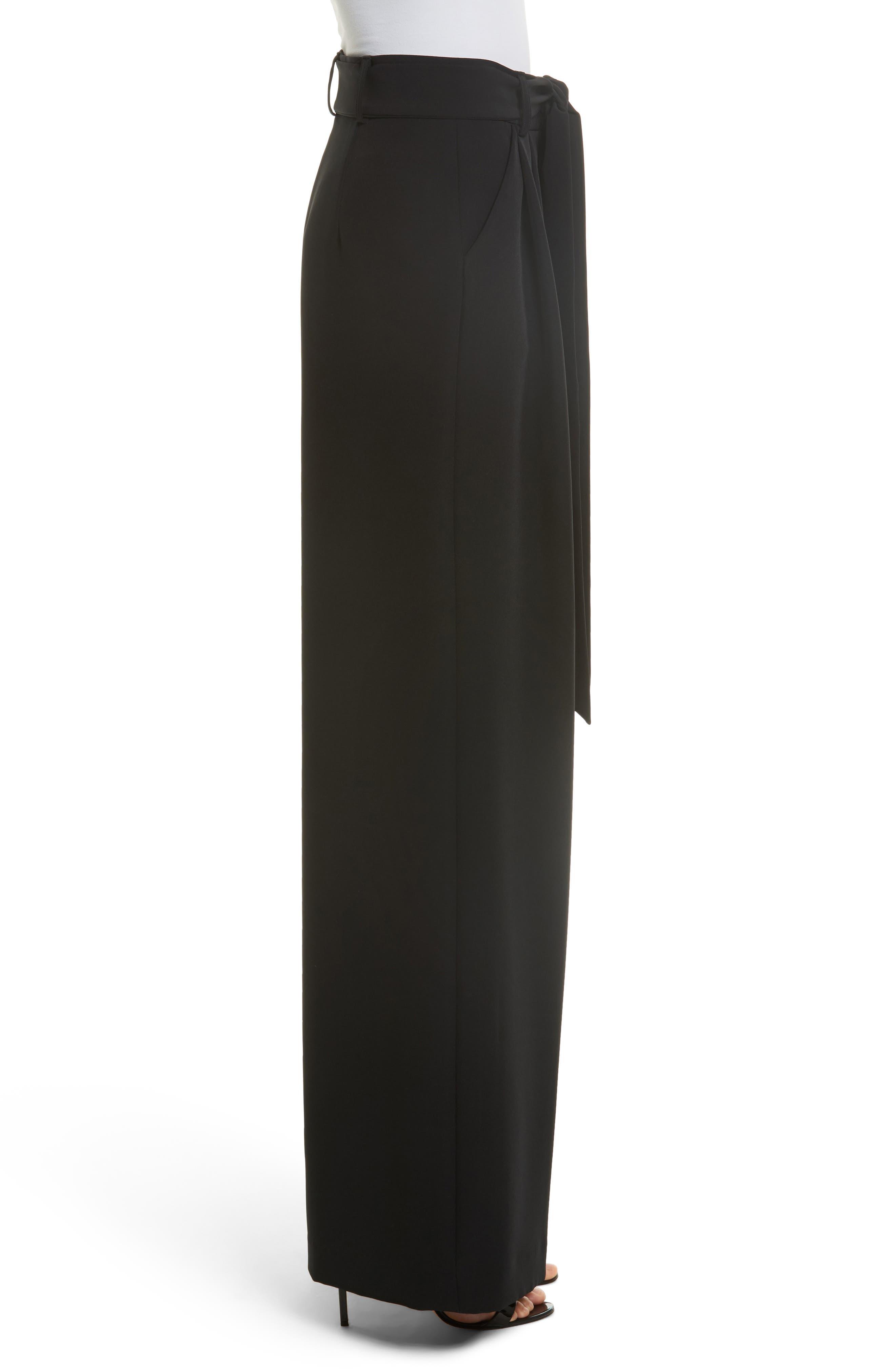 Alternate Image 3  - Milly Natalie Wide Leg Italian Cady Pants