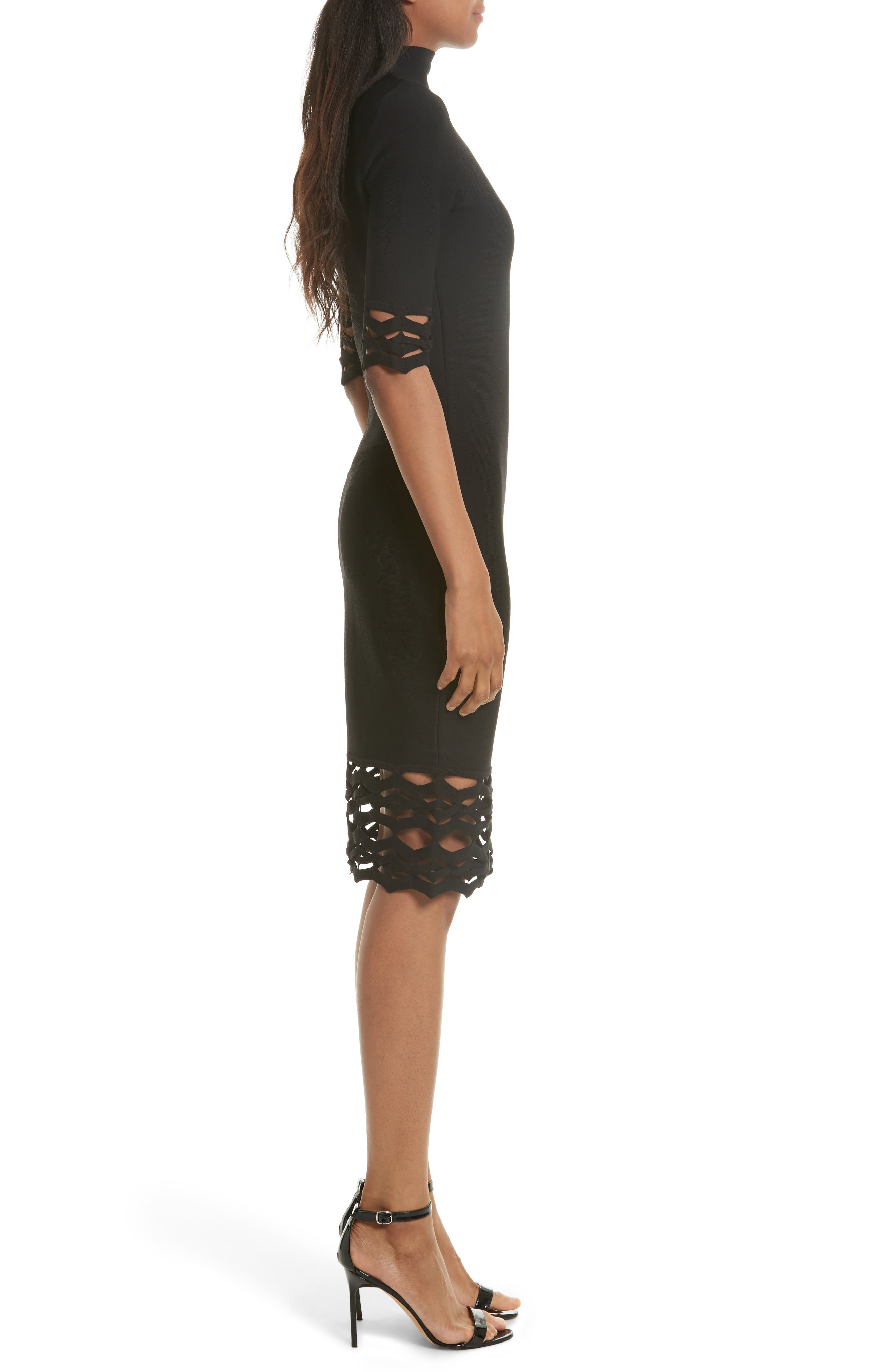 Alternate Image 3  - Milly Cutout Detail Sheath Dress