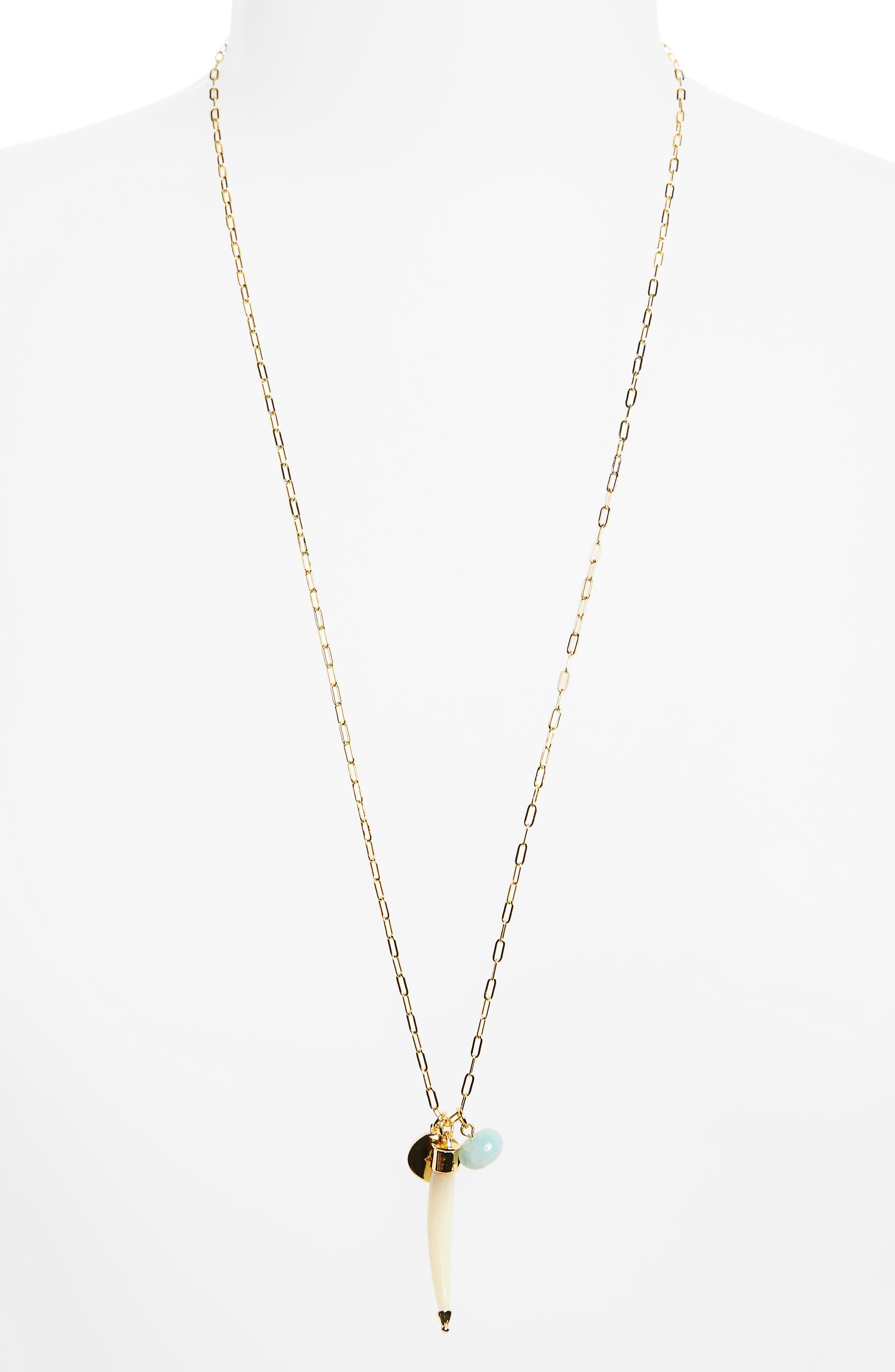 Elizabeth and James Holly Cluster Pendant Necklace