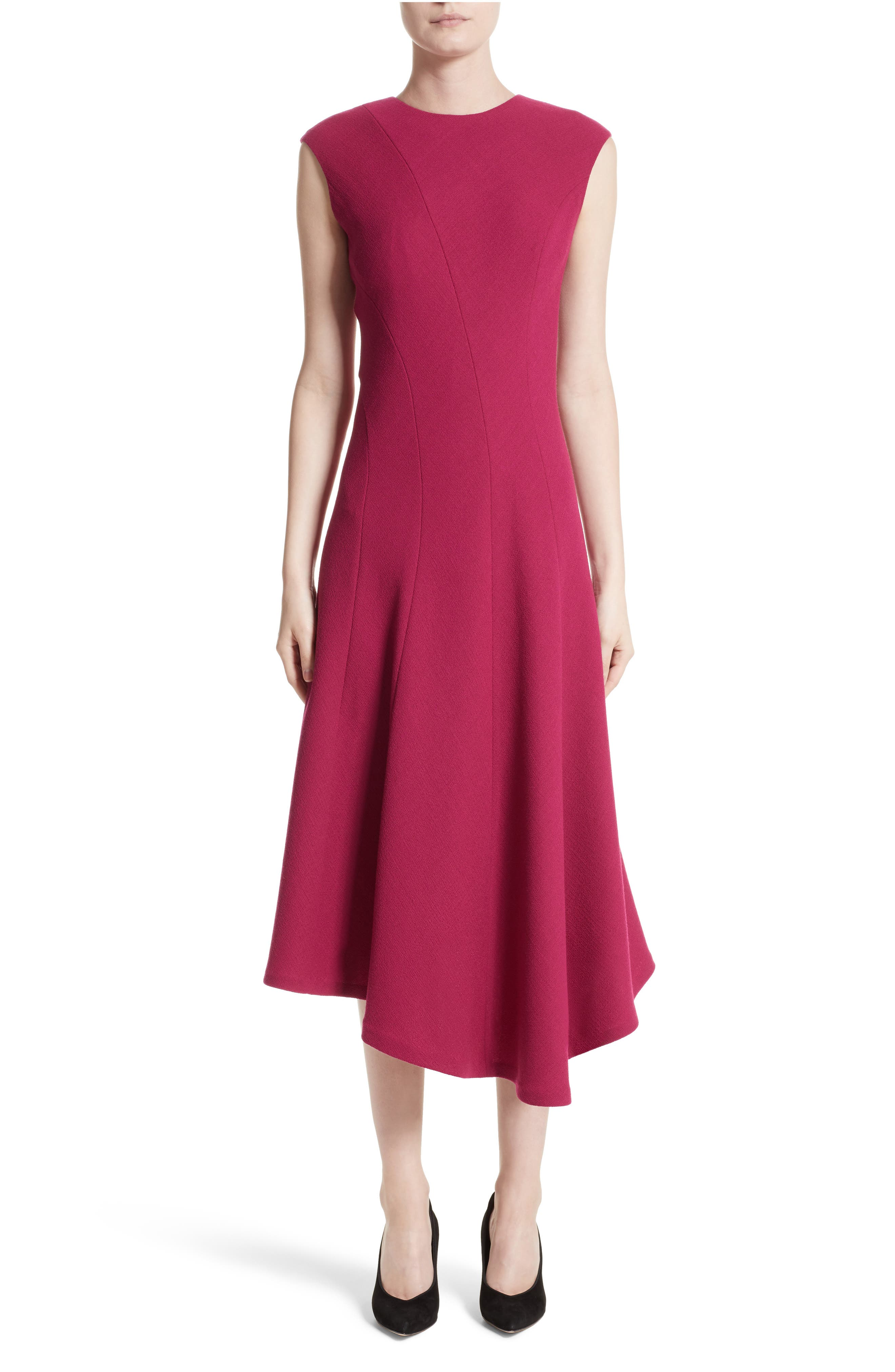 Main Image - Lafayette 148 New York Aveena Wool Interlock Dress