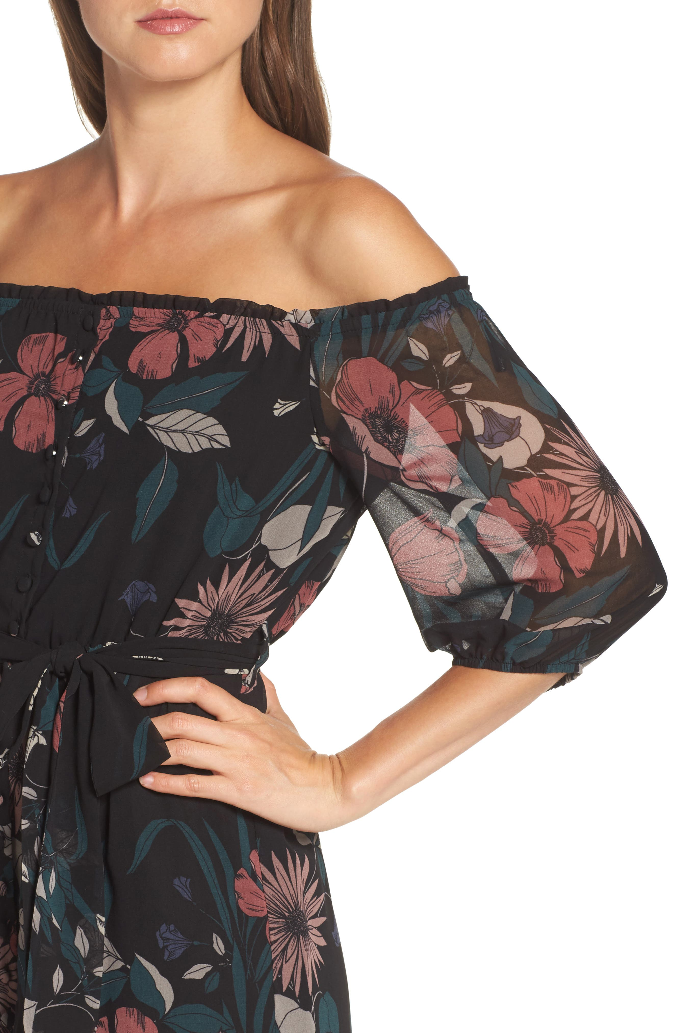 Alternate Image 4  - Bardot Camilla Midi Dress
