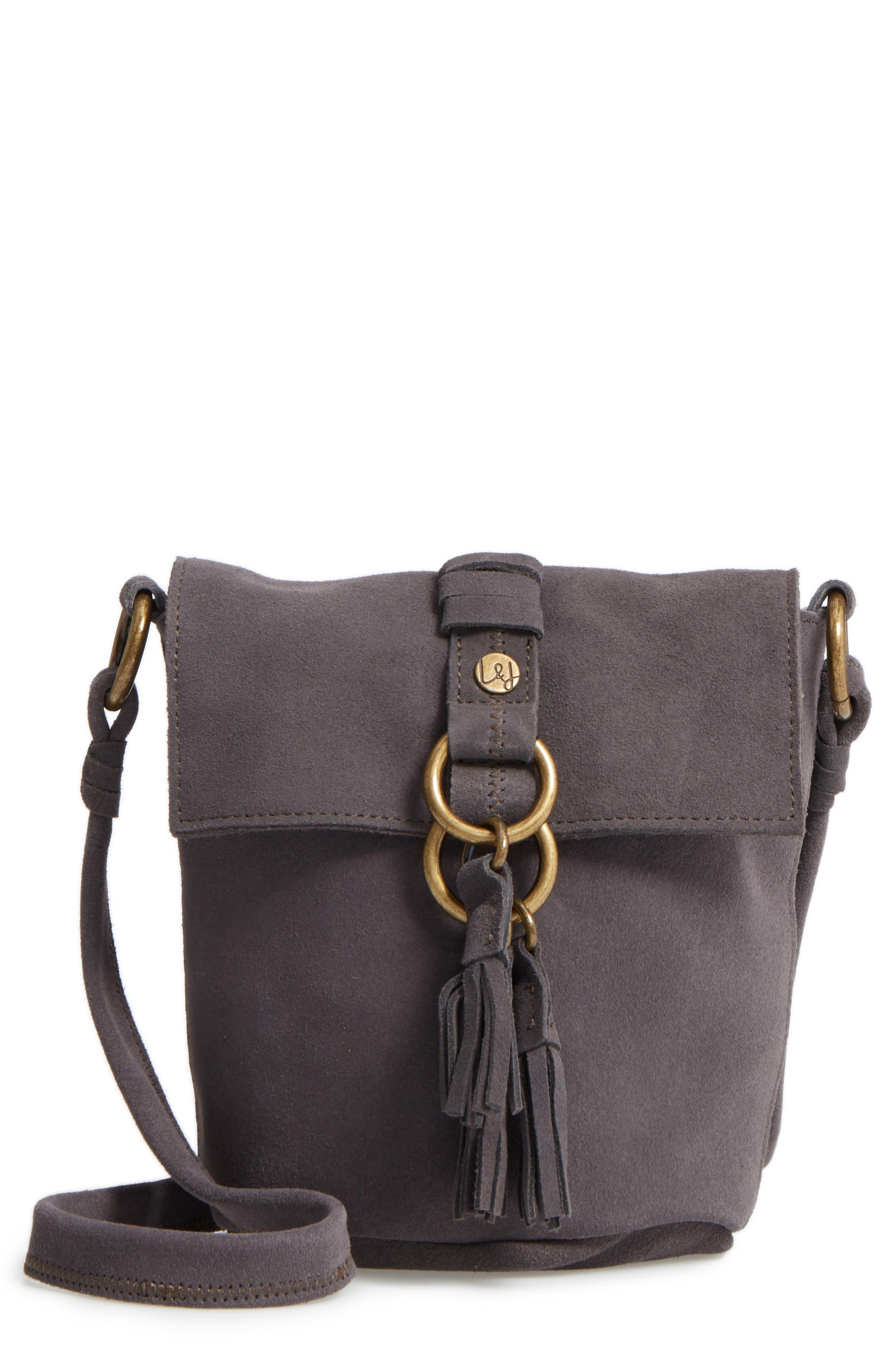 Alternate Image 1 Selected - Elle & Jae Gypset Wildleder Suede Crossbody Bag