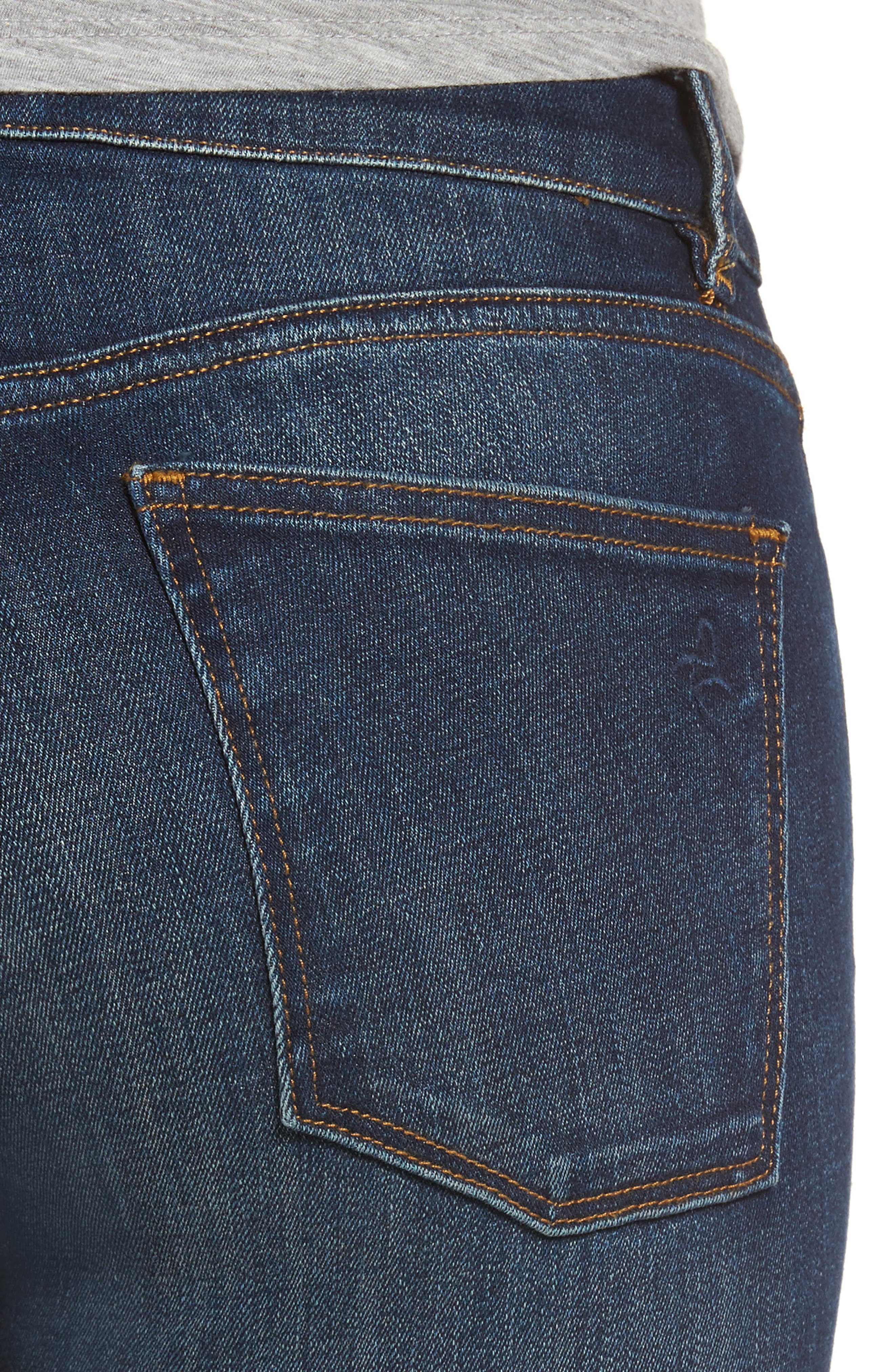 Emma Power Legging Skinny Jeans,                             Alternate thumbnail 4, color,                             Sulton