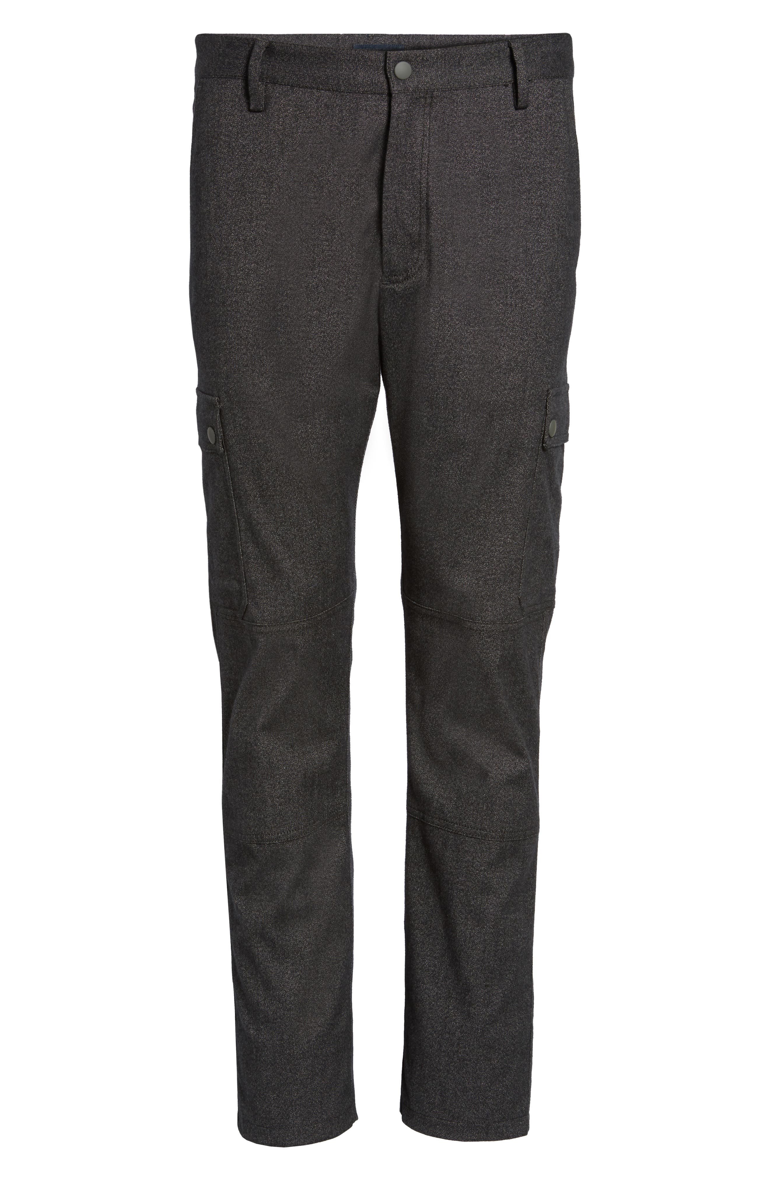 Rainer Cargo Pants,                             Alternate thumbnail 6, color,                             Dark Grey