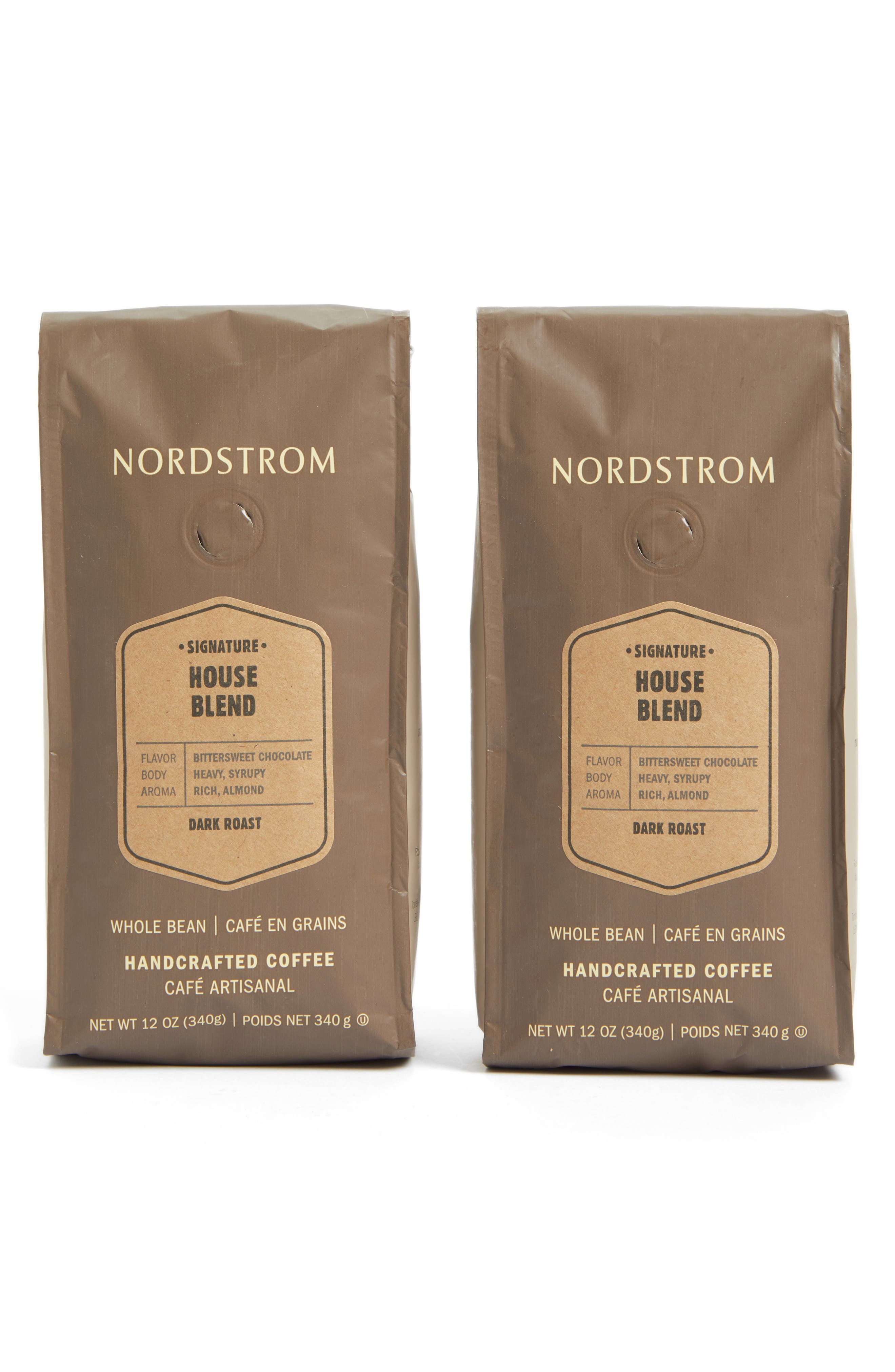 Alternate Image 1 Selected - Nordstrom Coffee 'House Blend' Whole Bean Coffee (2-Pack)