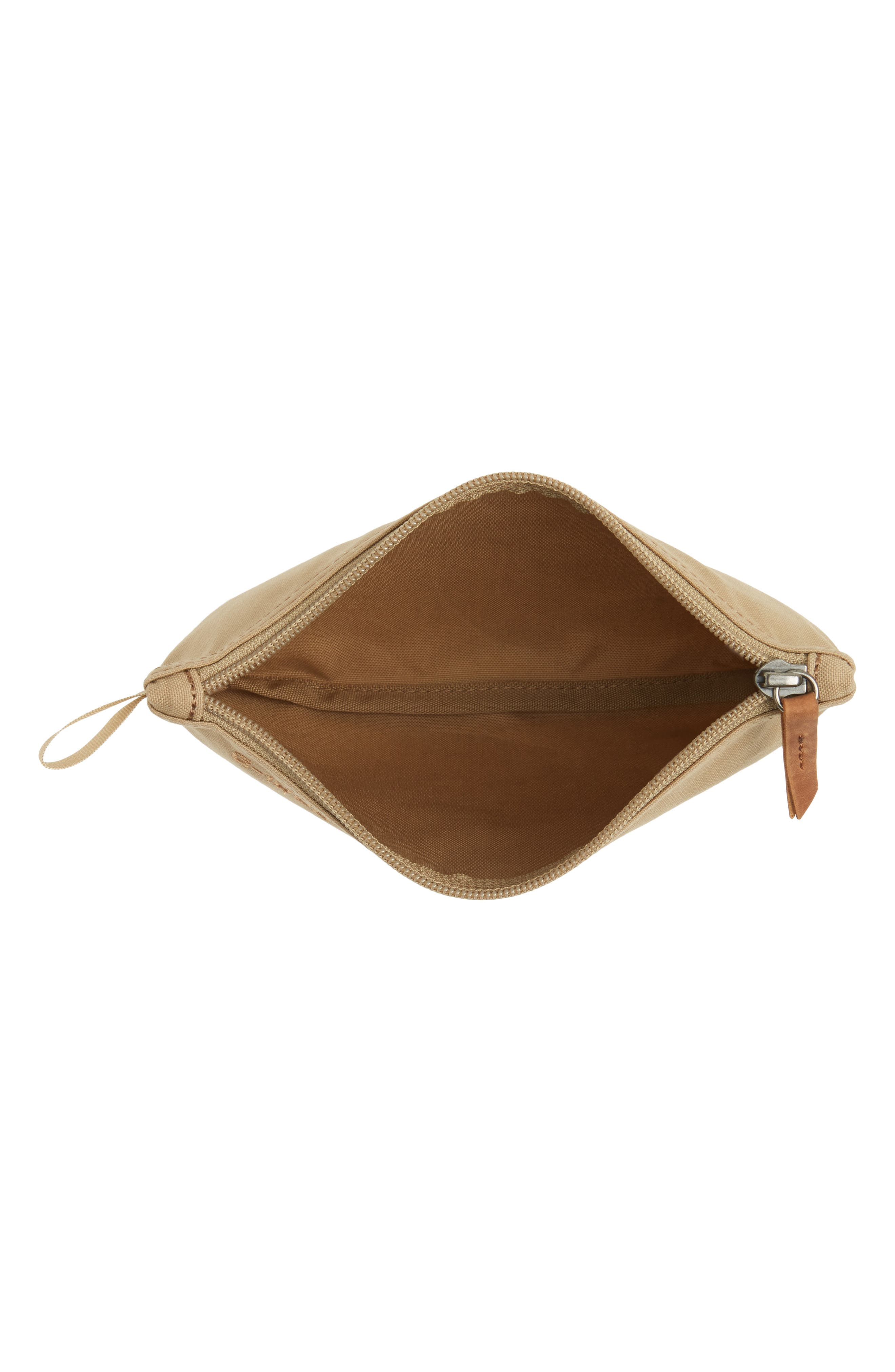 Gear Water-Resistant Pocket Pouch,                             Alternate thumbnail 3, color,                             Sand