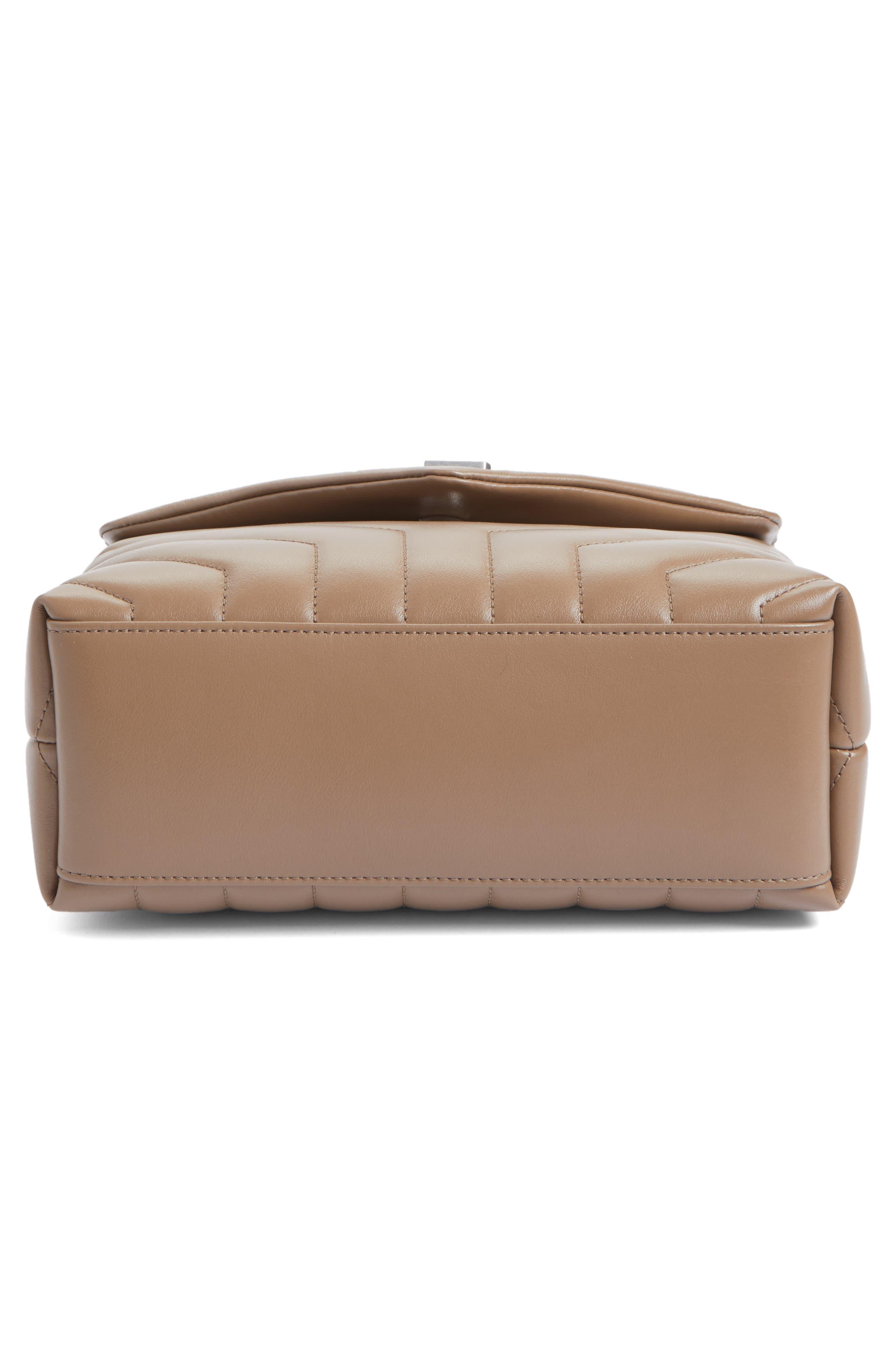 Alternate Image 6  - Saint Laurent Small Loulou Matelassé Leather Shoulder Bag